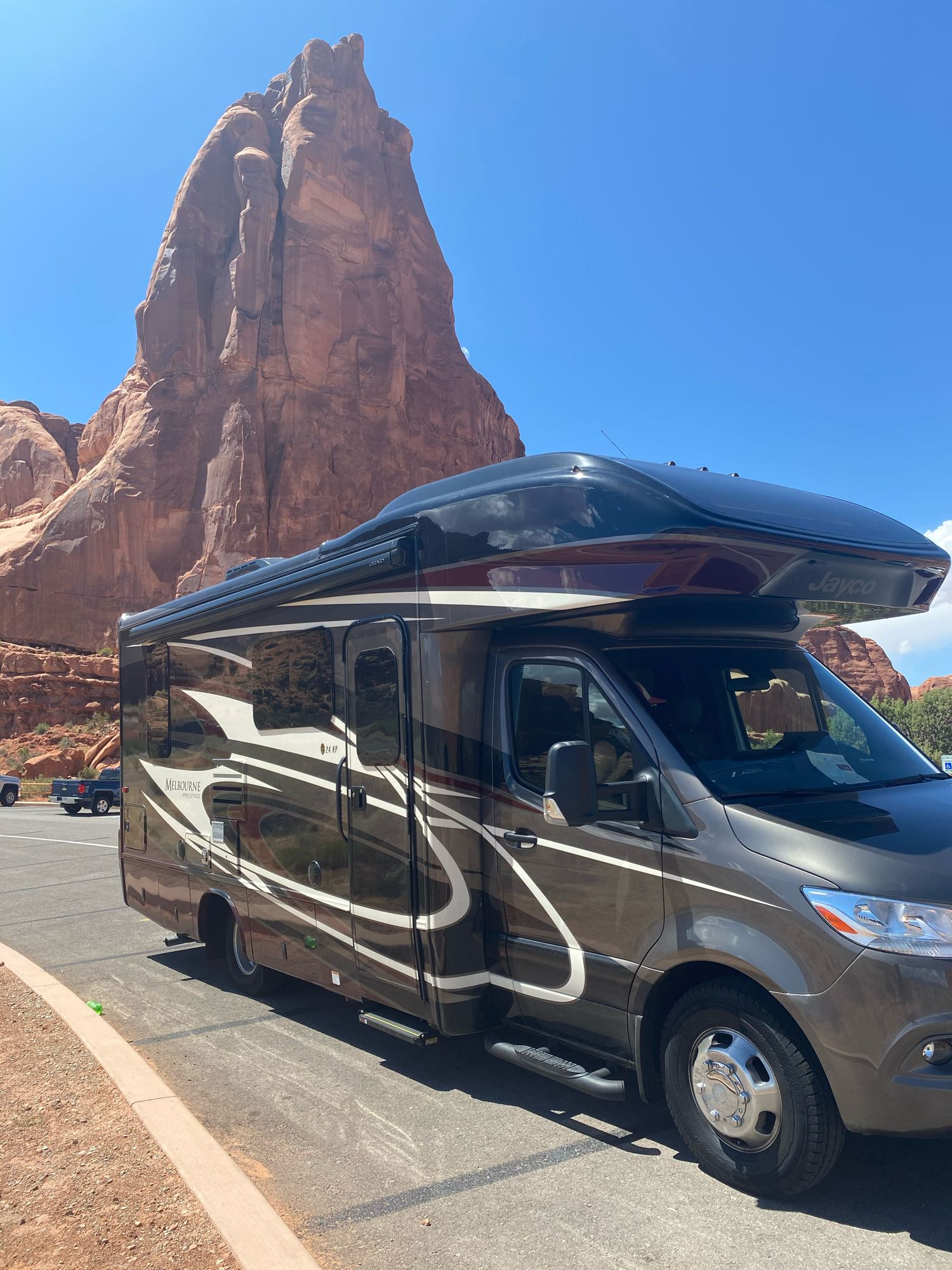 Arches National Park - Moab, UT. Jayco Melbourne Prestige 2020
