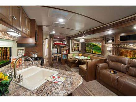 Spacious main living area. Dutchmen Denali 2016