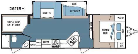 Floorplan. Dutchmen Denali 2016