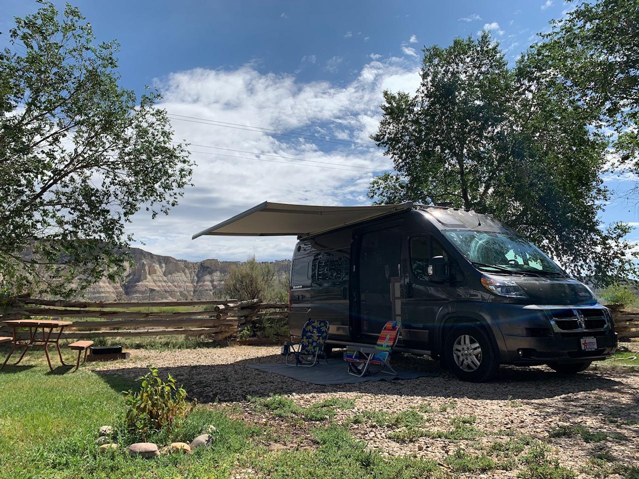 Bryce Canyon. Winnebago Travato 2019