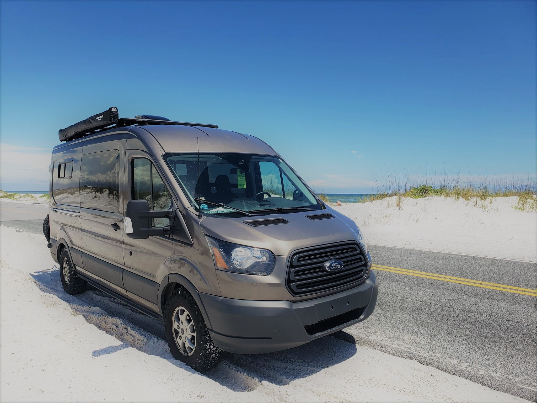 "Meet Rover VAN. Ford Transit ""Rover Van"" Explorer 2015"
