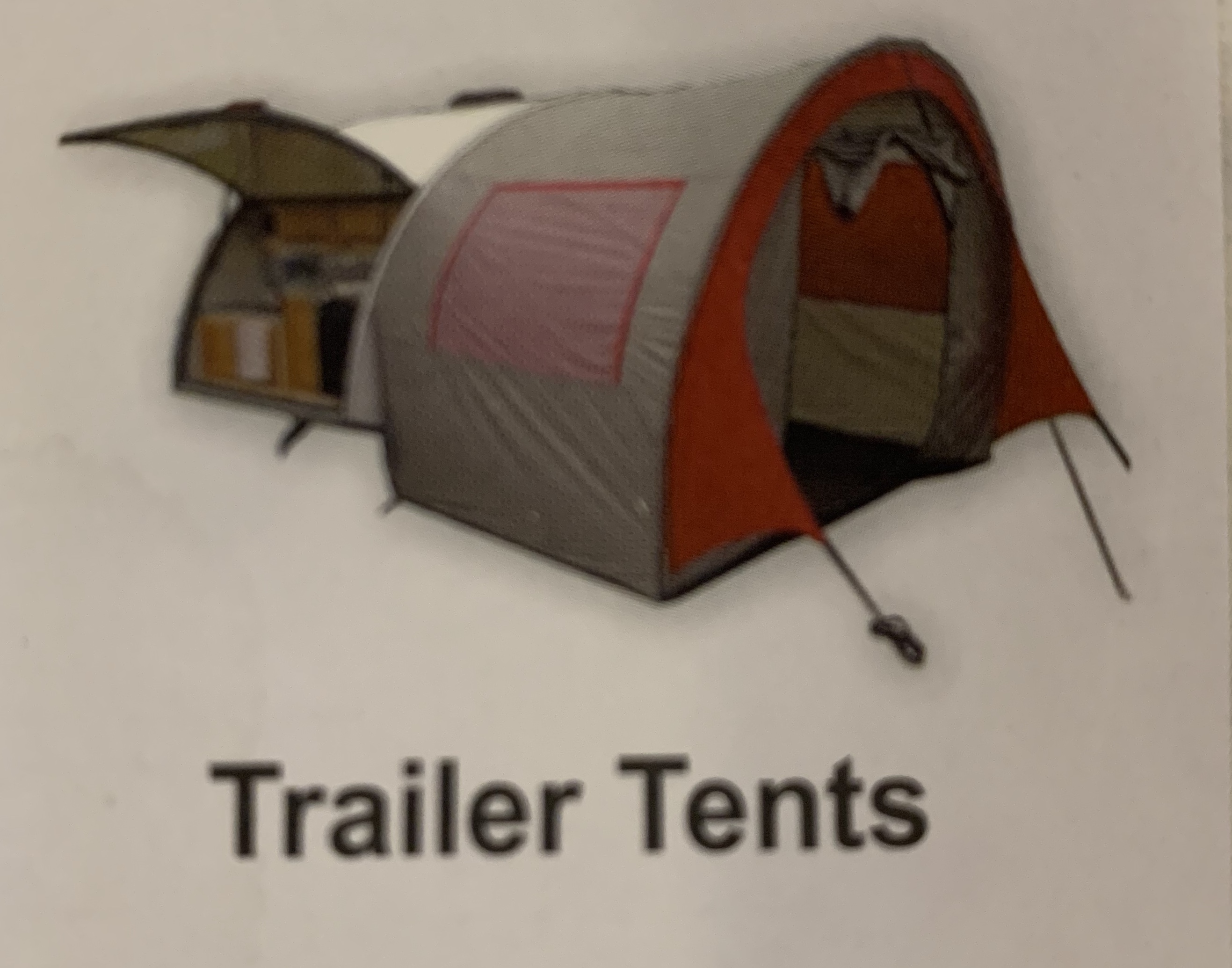Attachable tent for extra sleeping space or privacy. T@B TQT 2008