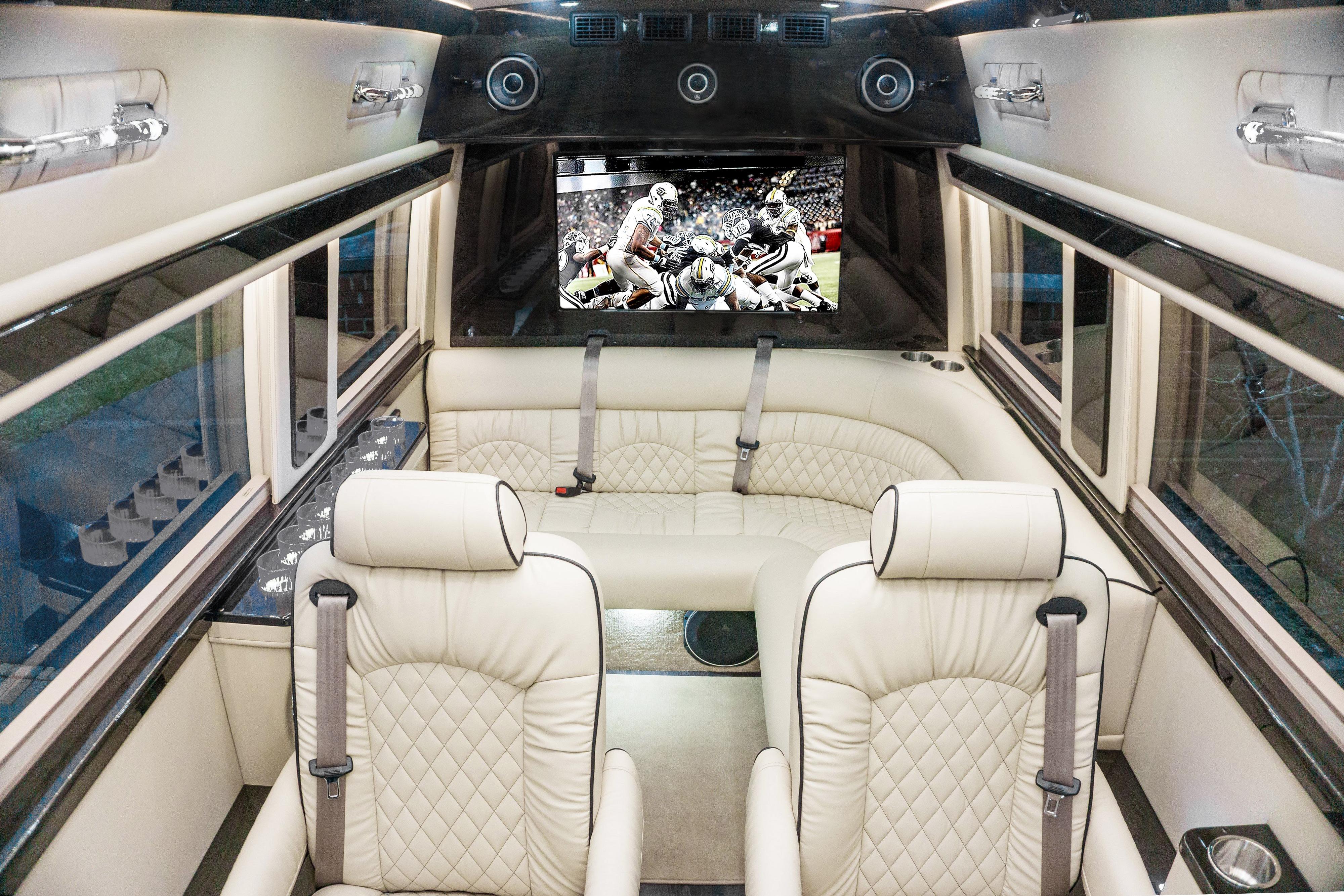 Mercedes Sprinter 3500 luxury limo 2019