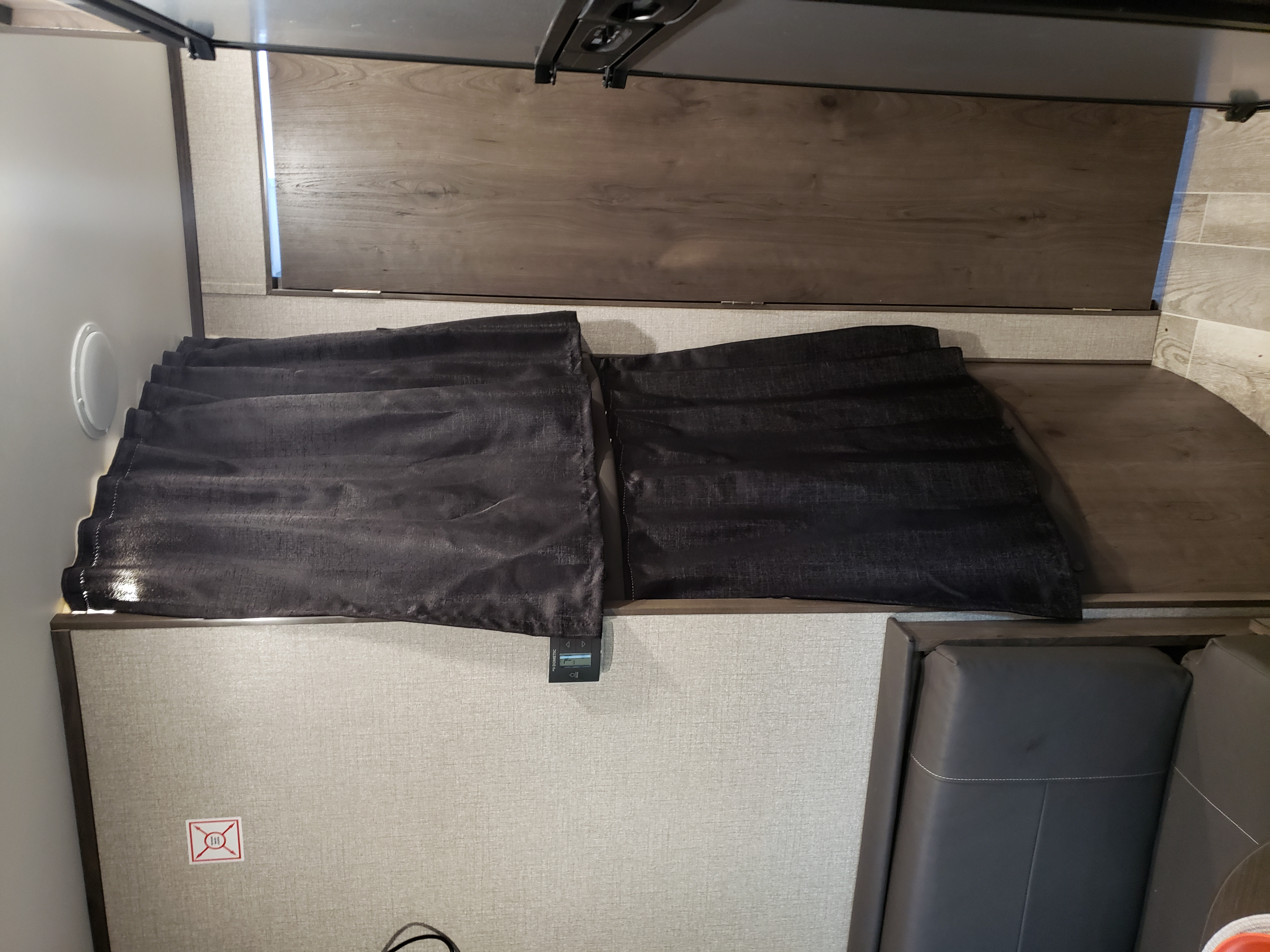 Privacy curtains. Jayco Jay Flight 2021