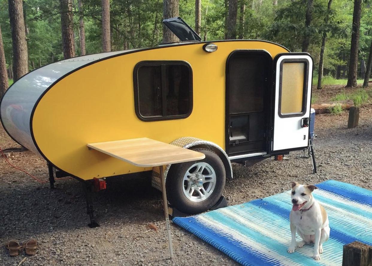 Rustic Trail Teardrop Campers Papa Bear 2015