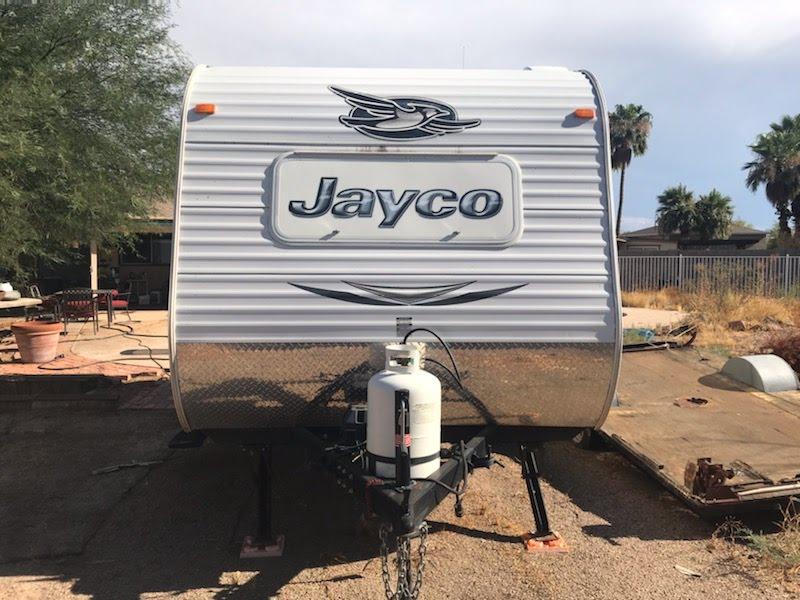 Front View. Jayco Jay Flight 2015