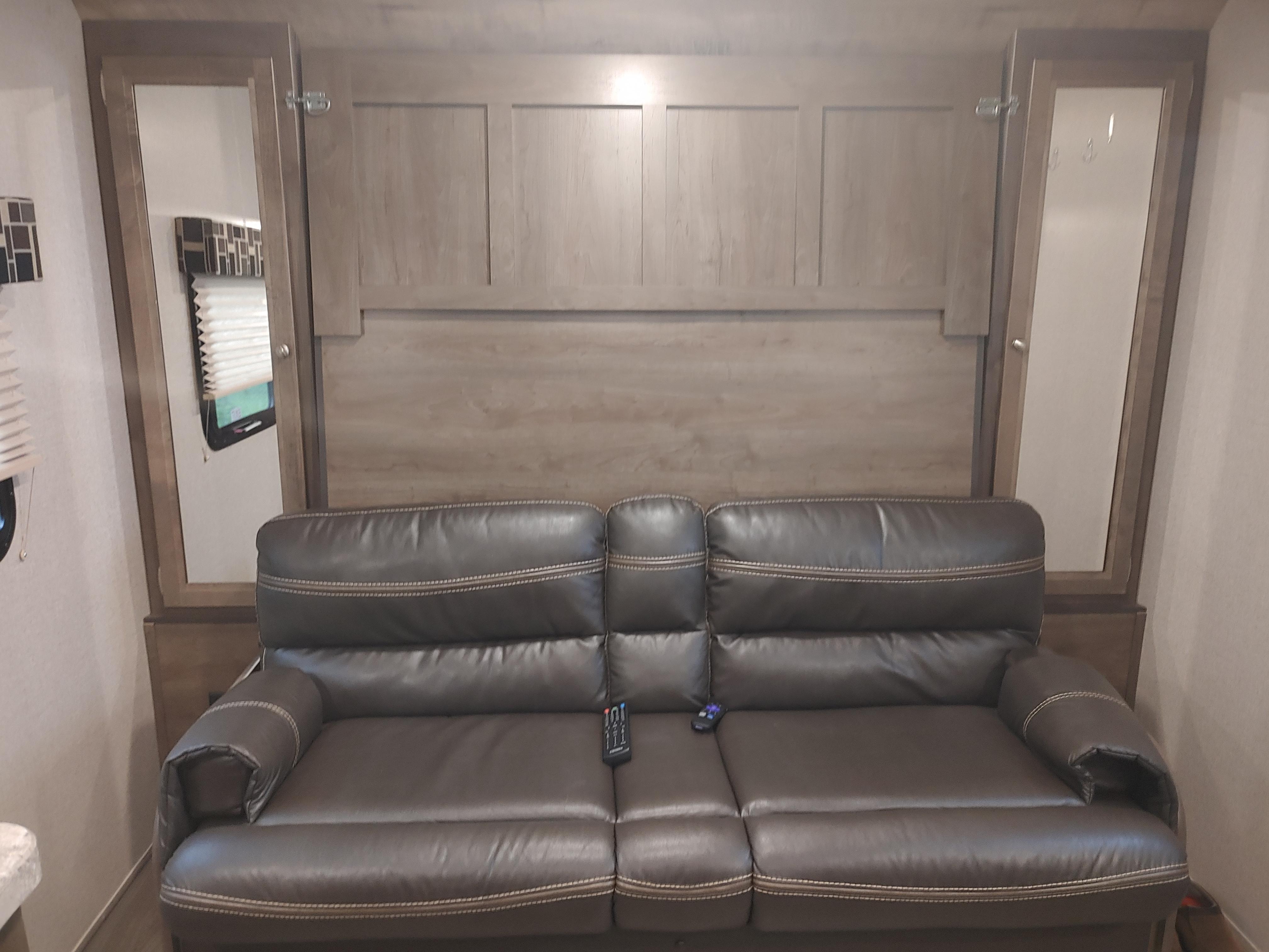 Comfortable Couch. Dutchmen Coleman 2019