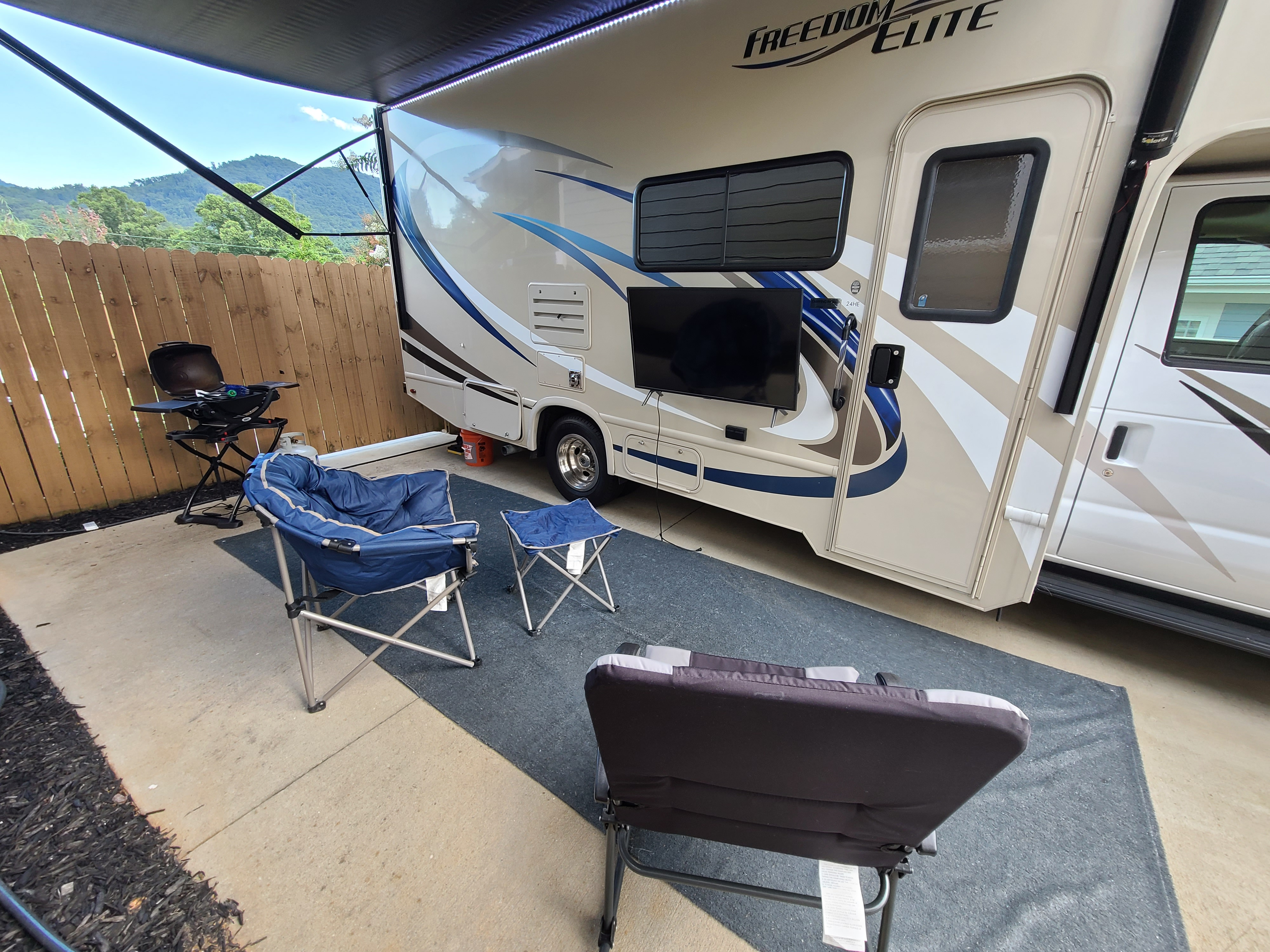 Included in rental price. Thor Motor Coach Freedom Elite 2019