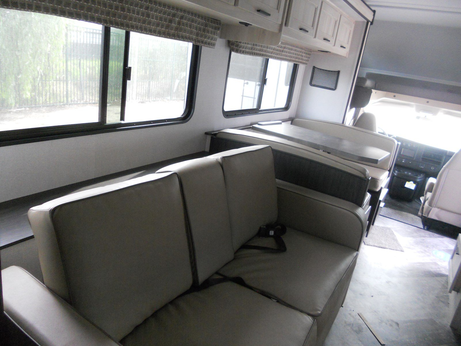 FUTON AND DINETTE CONVERT TO BEDS. Forest River Sunseeker 2550SL 2021