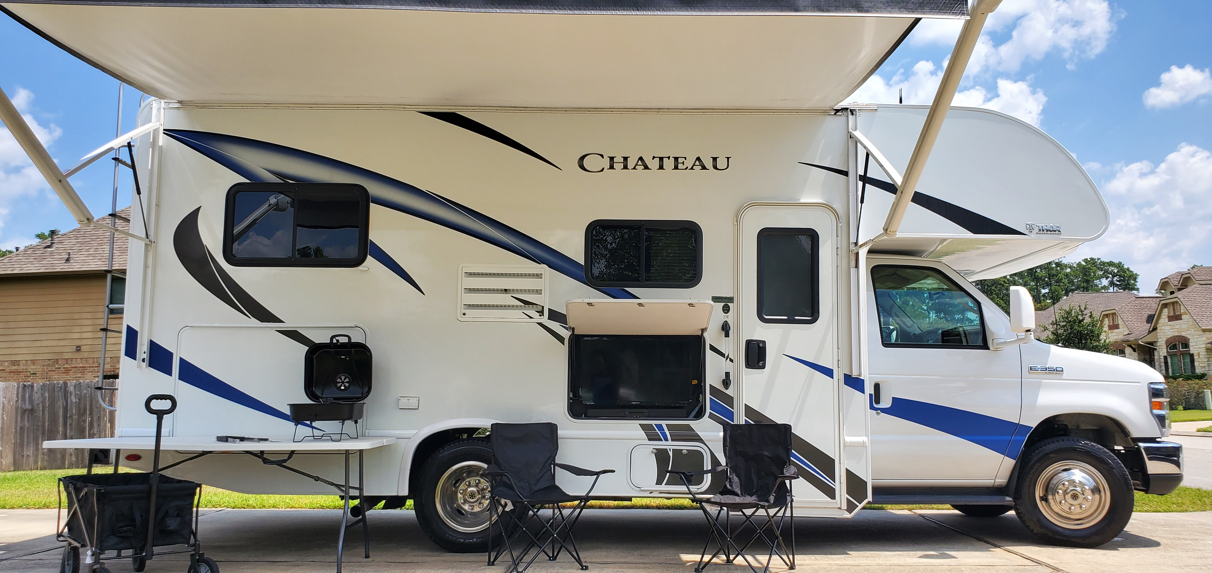 Thor Ford Motor Coach Chateau 2019