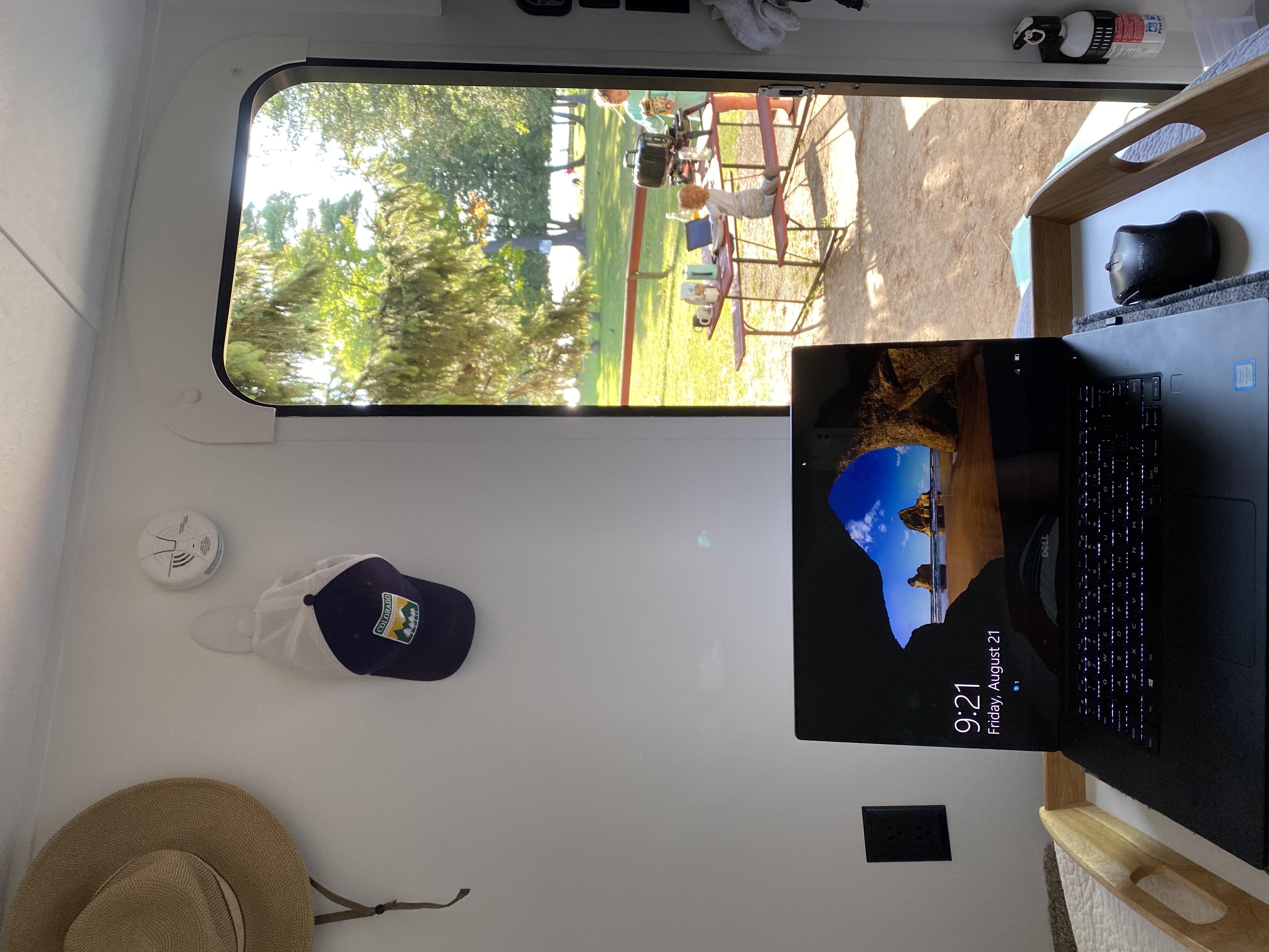 Not a bad virtual office!. Keystone Hideout 2017
