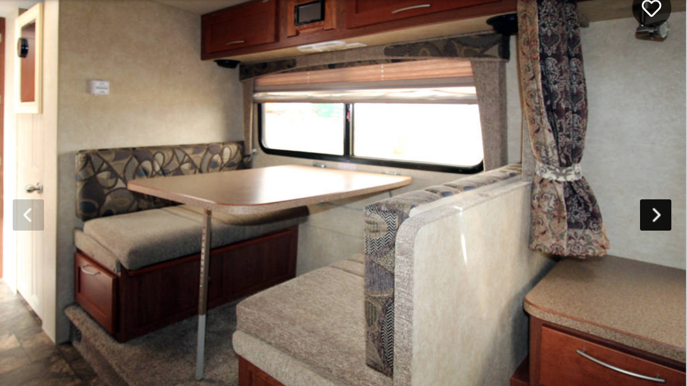 4 Person Dinetter also doubles as bed. Bigfoot 25b21fb 2005