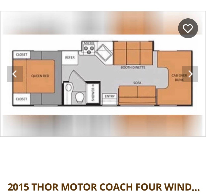 Thor Motor Coach Four Winds 2015