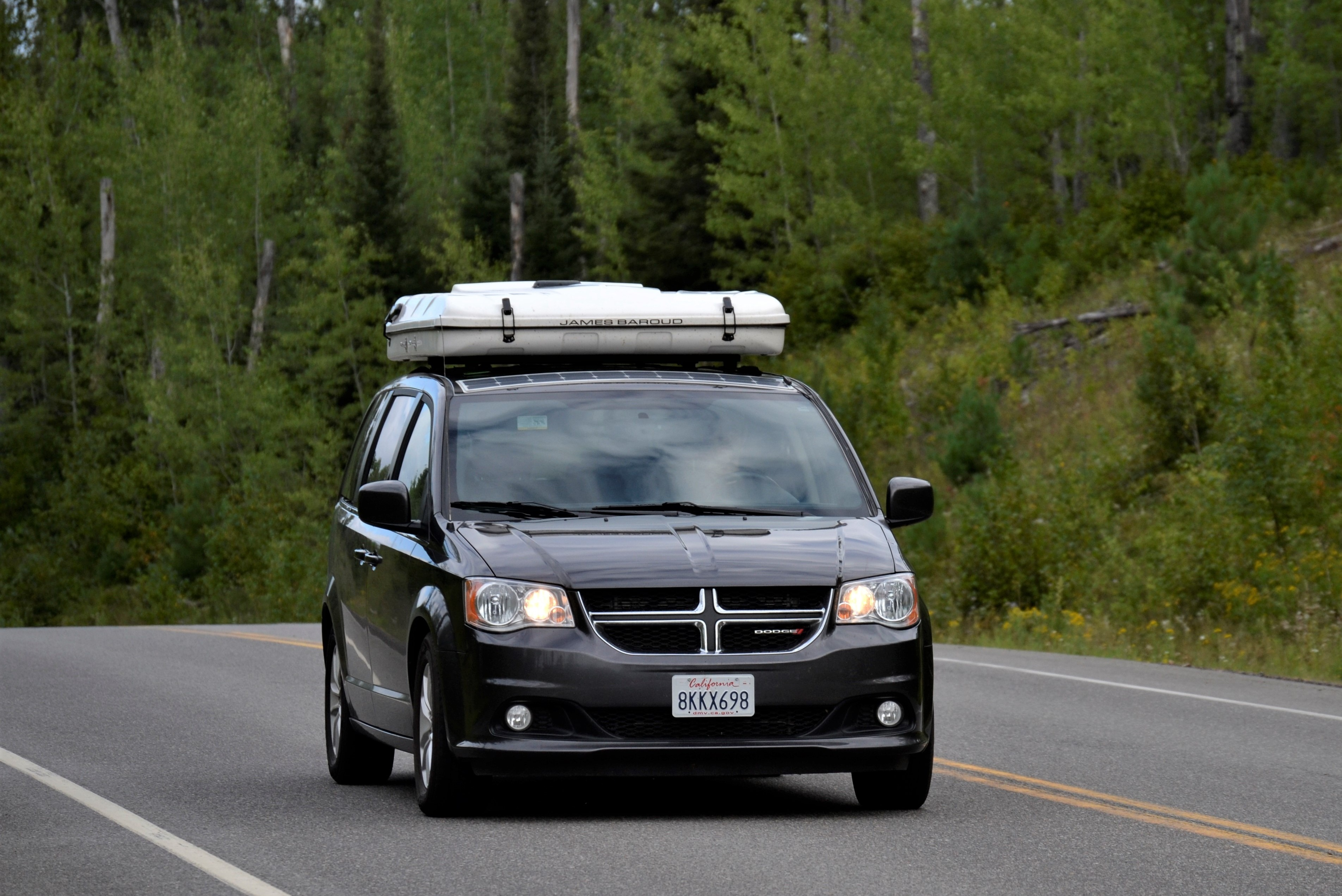 Easy to drive and great gas mileage!. Dodge Grand Caravan Camper 2018