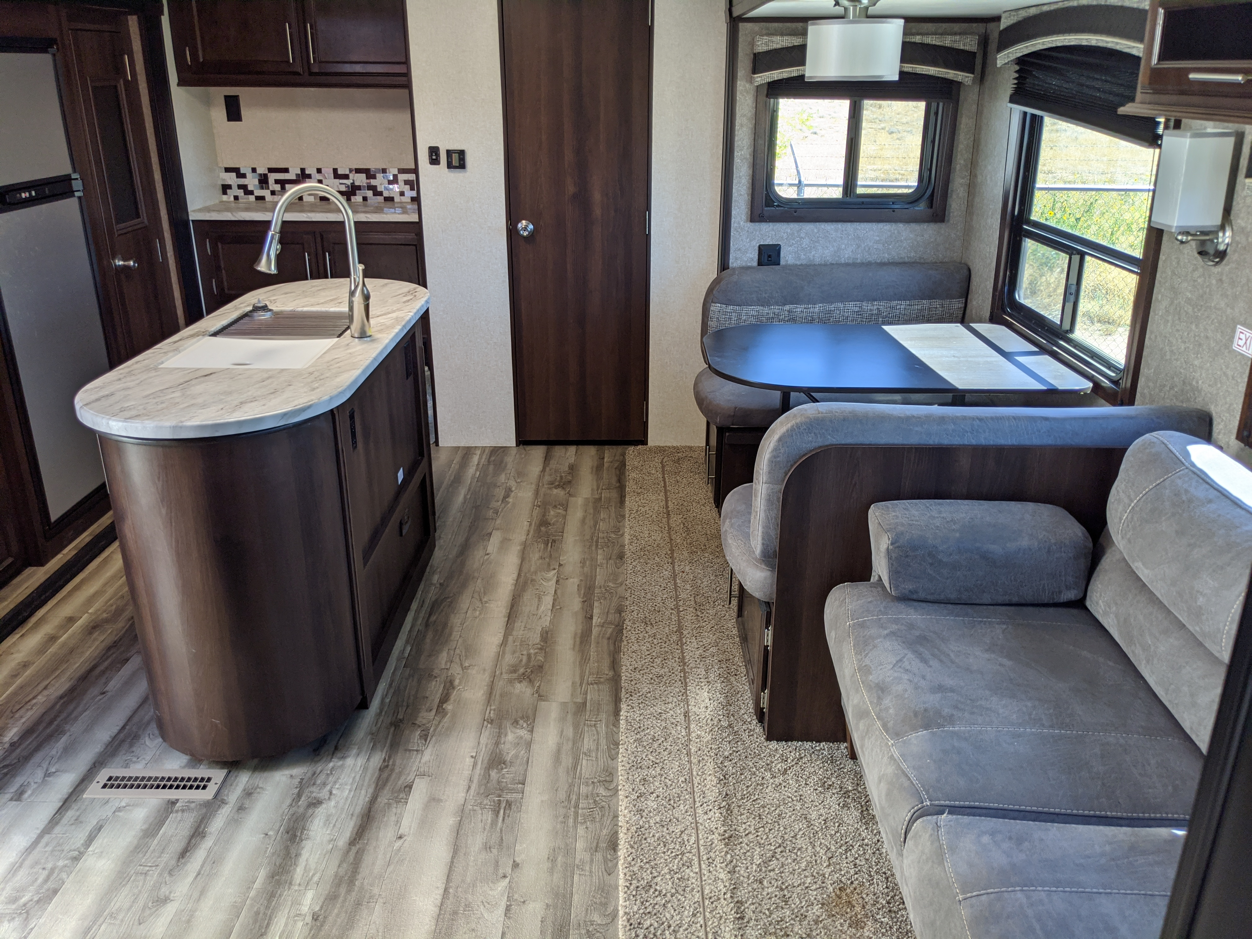 Kitchen and living area.. Jayco Flite 2019