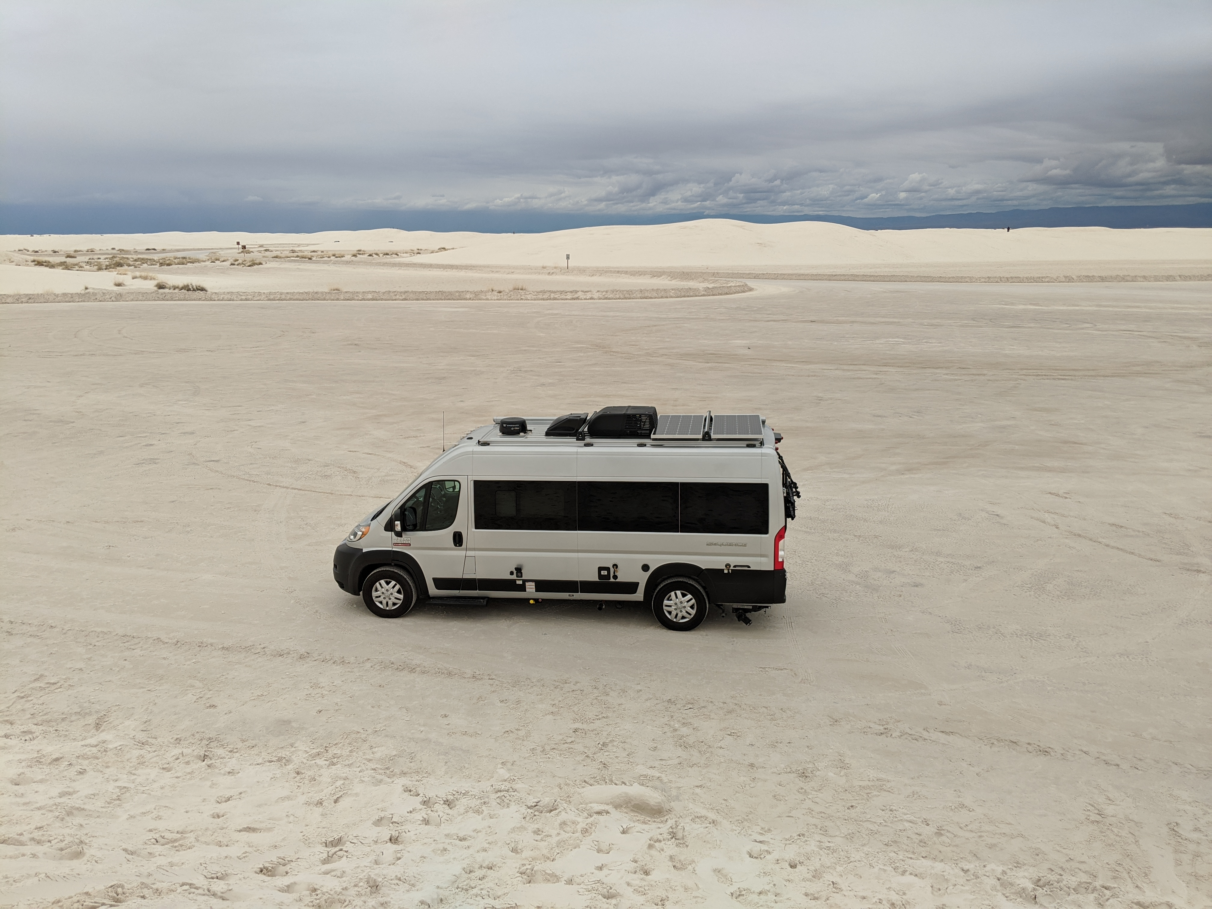 White Sands N.P.. Thor Motor Coach Sequence 20L 2020