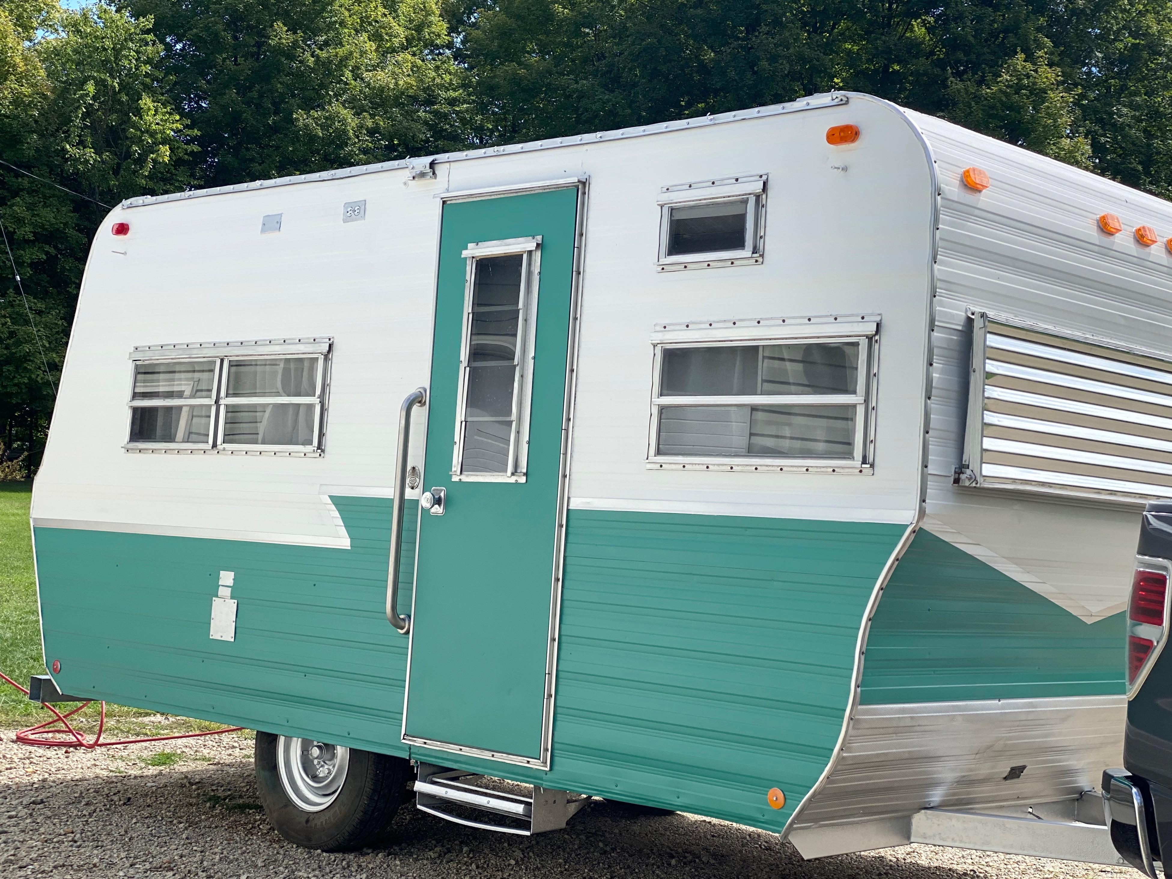 Isn't she pretty!. Custom Camper 1971