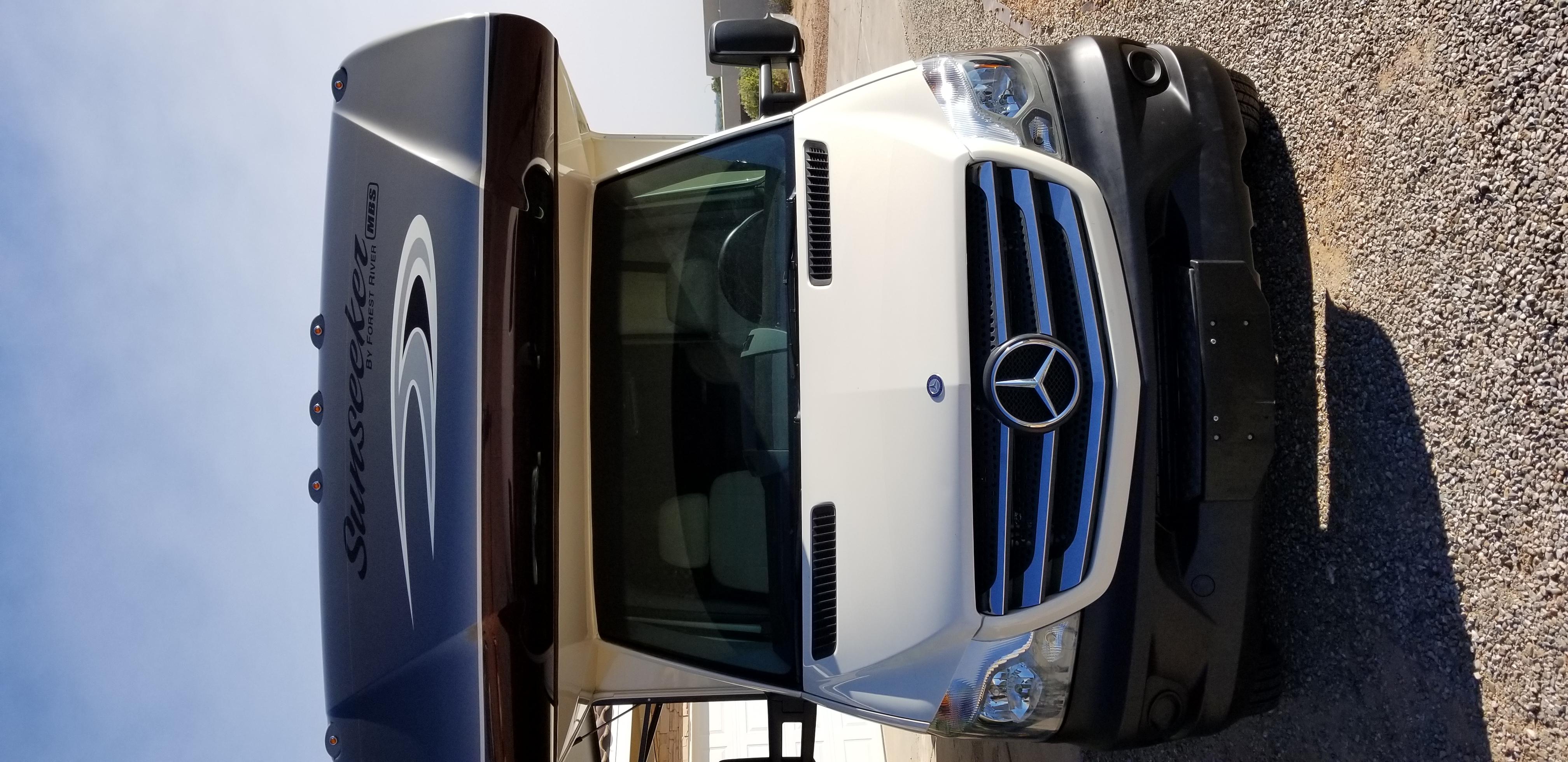 Mercedes Benz 3500 Sprinter Chassis. Forest River Sunseeker 2016