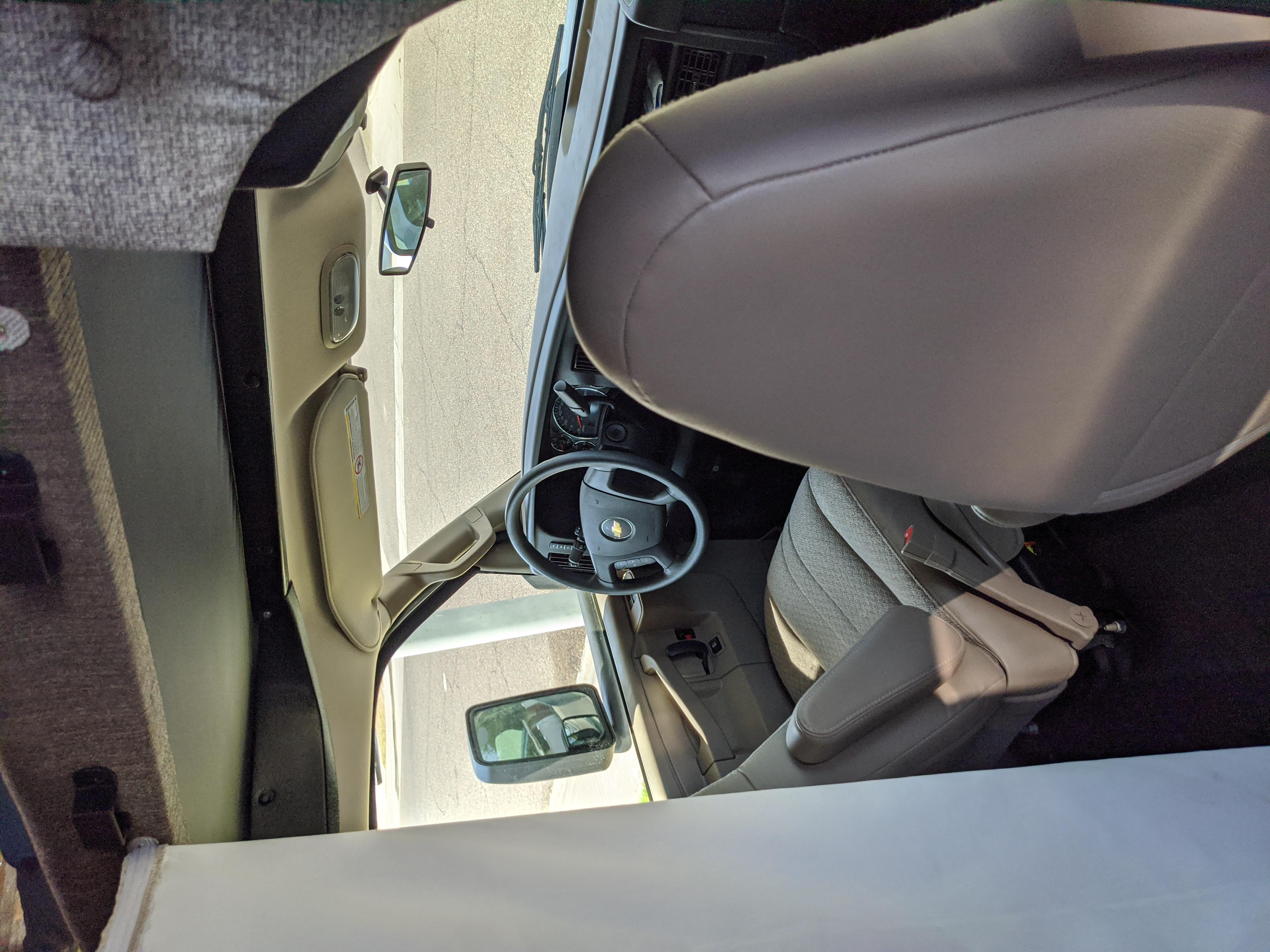 Comfortable Driver and Passenger Seat. Coachmen Freelander 2020