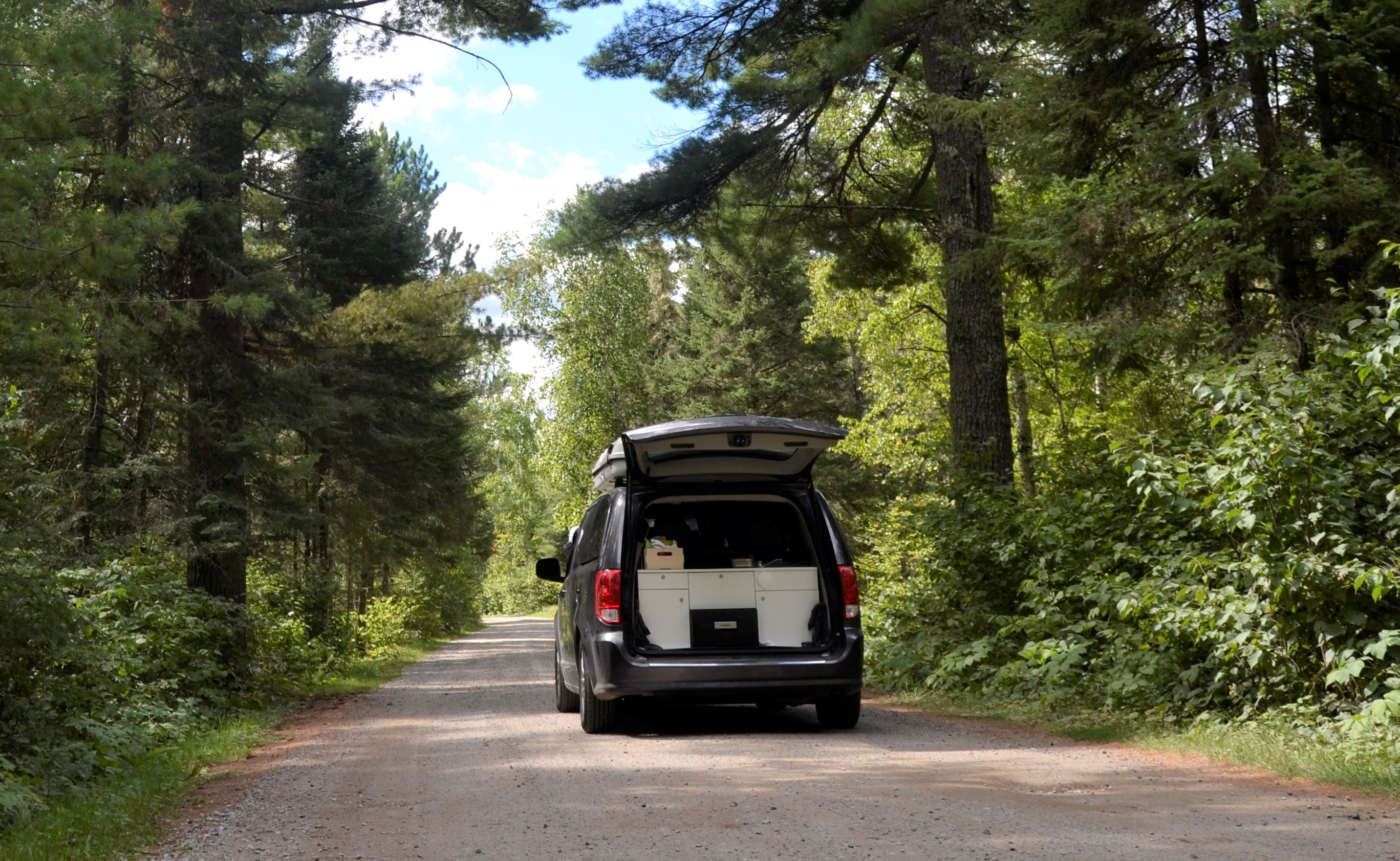 Everything you need including the kitchen sink!. Dodge Grand Caravan Camper 2018
