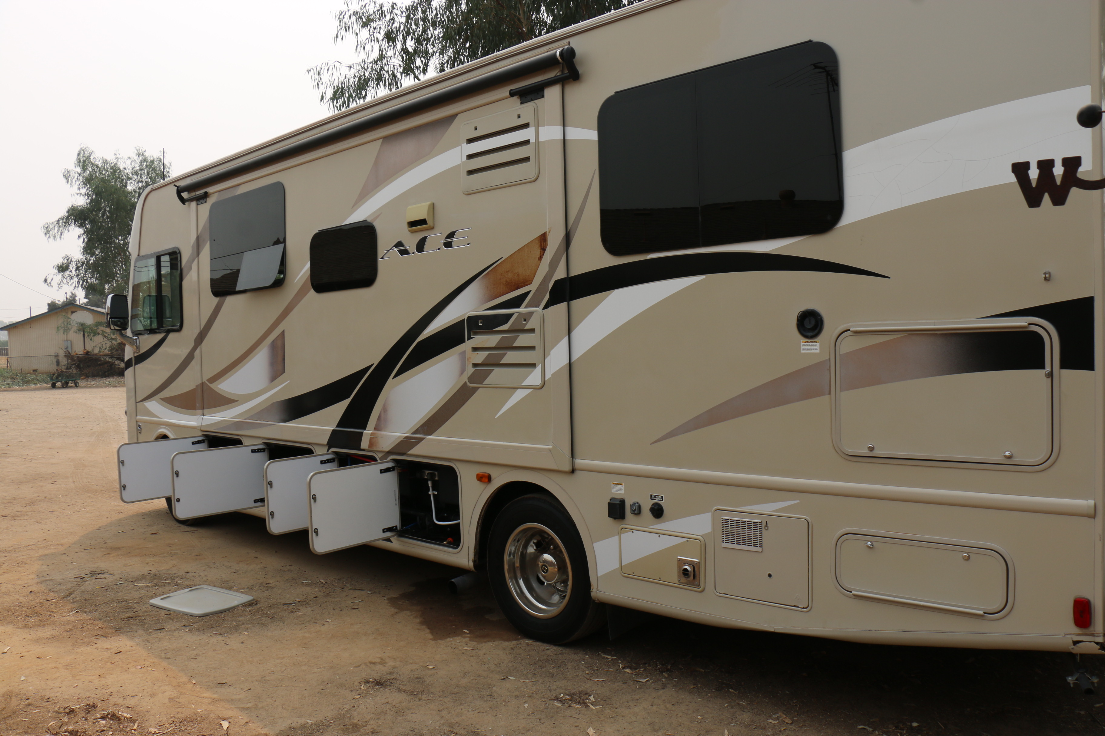 Lots of storage. Thor Motor Coach A.C.E 2017