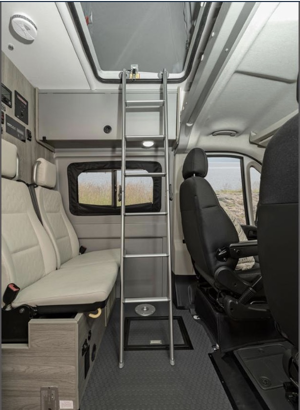 Ladder up to loft. Winnebago Winnebago 2021