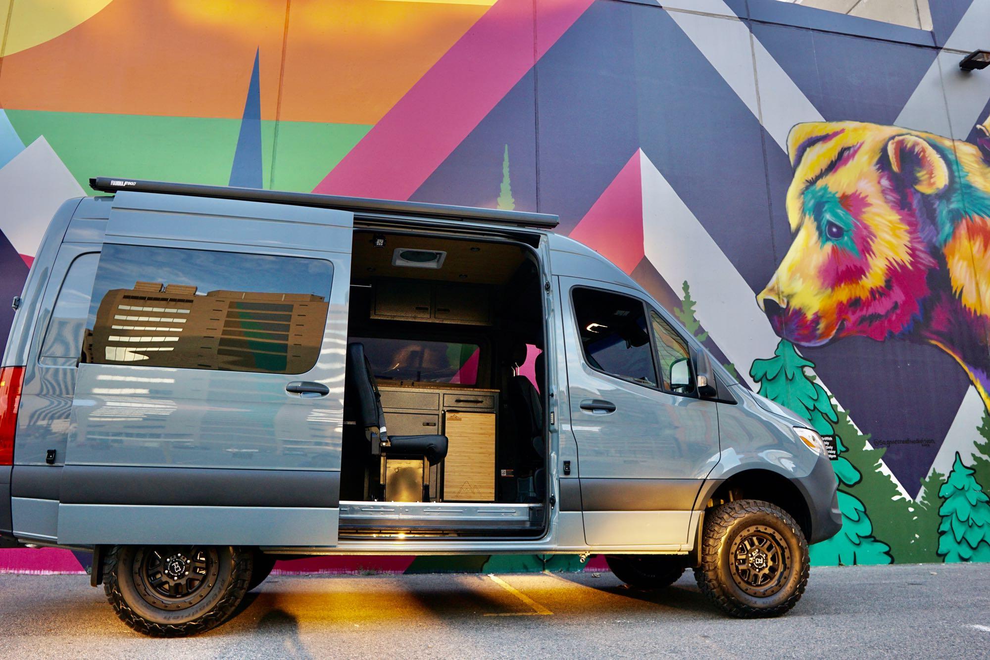 Mercedes-Benz Sprinter 4x4 315CDI MWB 2020