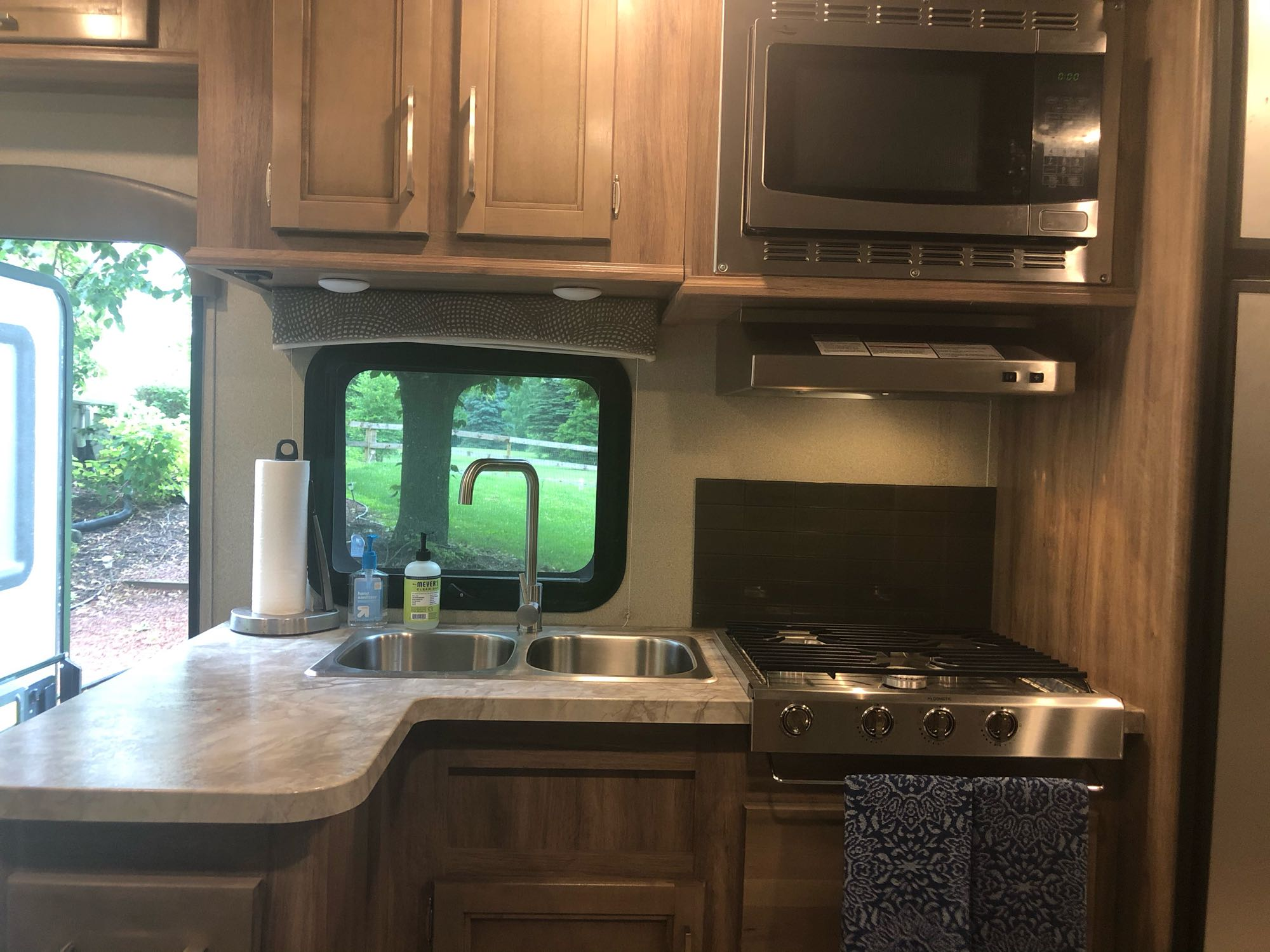 Ample kitchen storage right where you need it!. Entegra Coach Other 2019