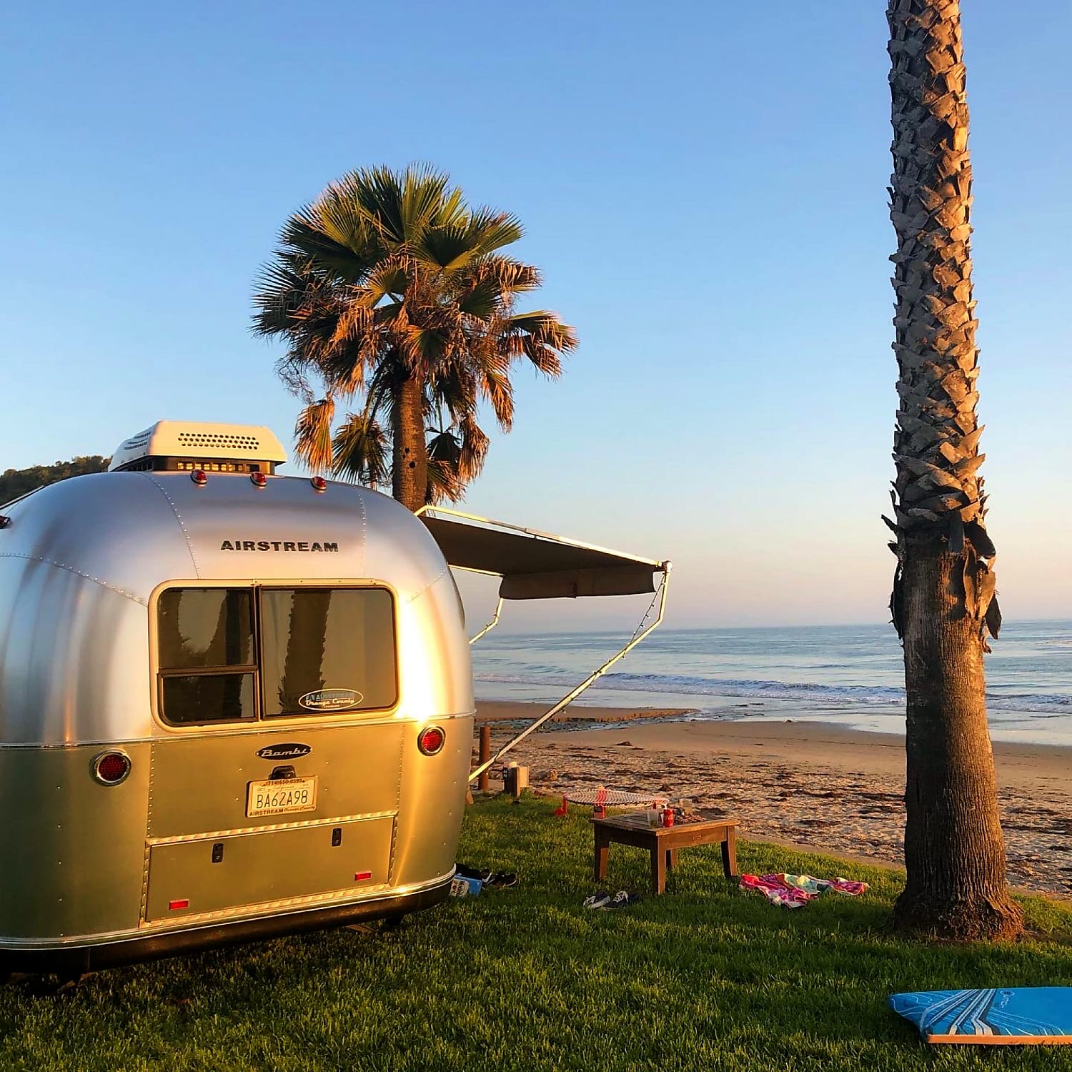 Here's to the views. Airstream Bambi Sport 2018