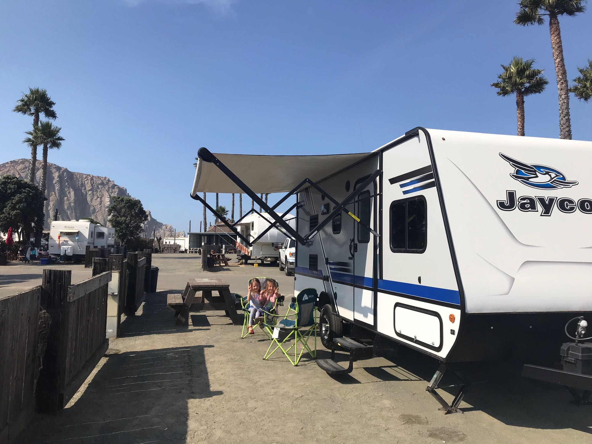 Morro Dunes Rv Park (Morro Bay). Jayco Jay Feather 2018