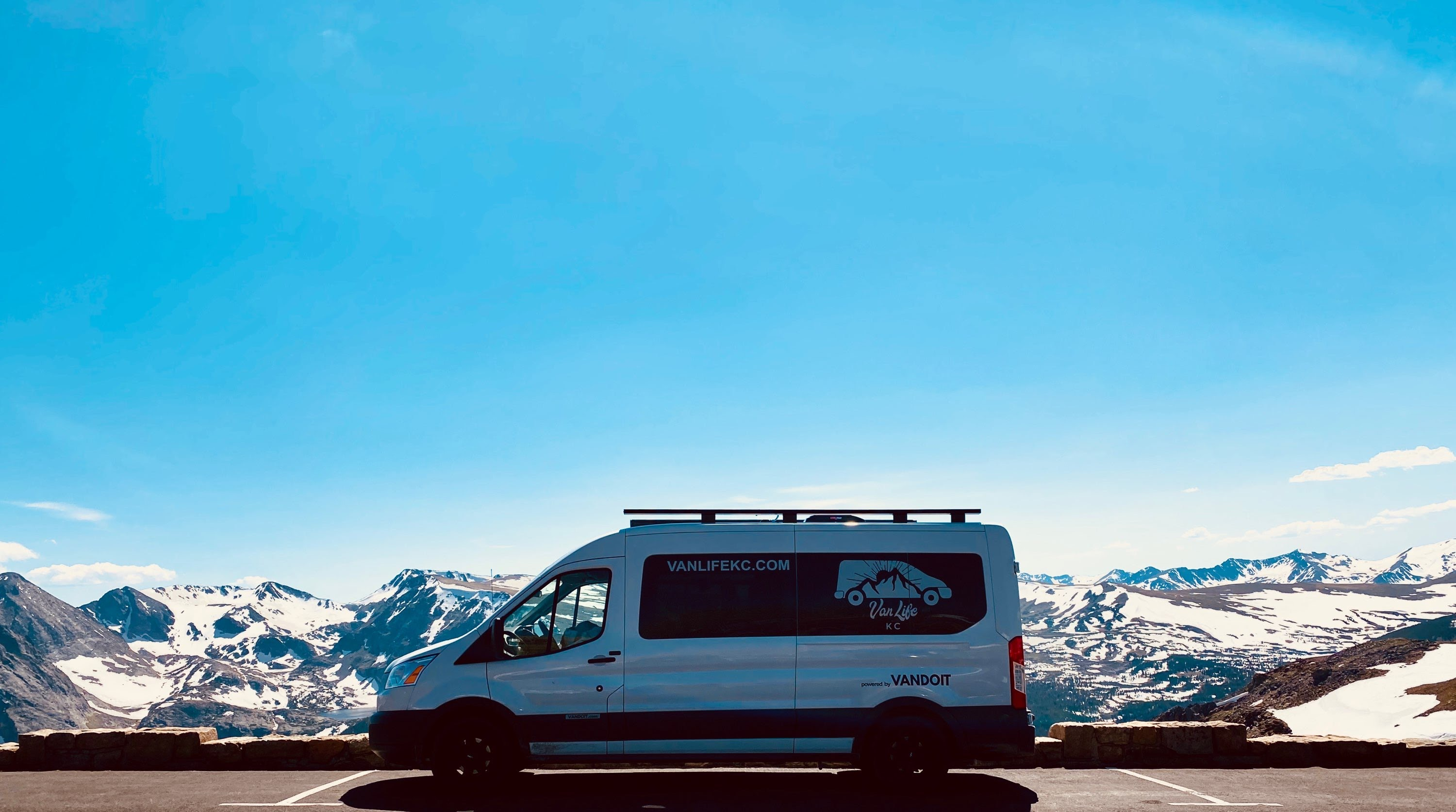 This killer photo was taken by a renter in the Rockies. Don't you see yourself there right now?. Ford Custom Transit VanDOit Adventure Van 2017