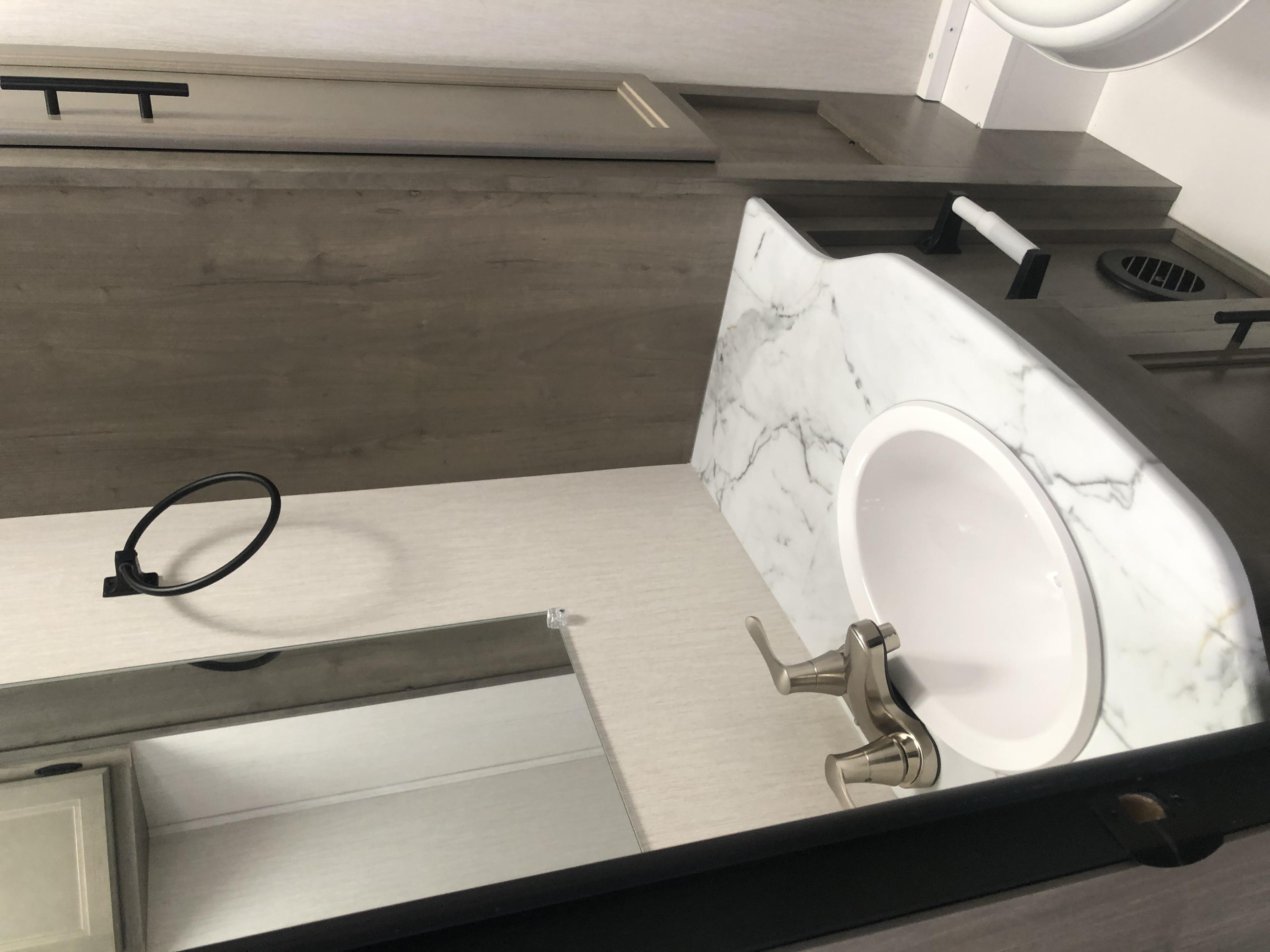 Bathroom Sink. Coachmen Freelander 2021