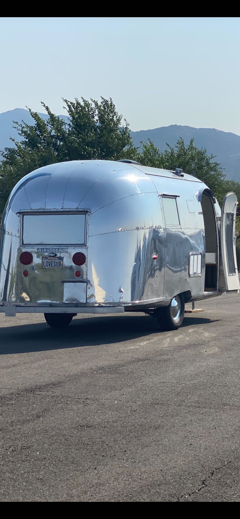 Airstream Globetrotter 1958