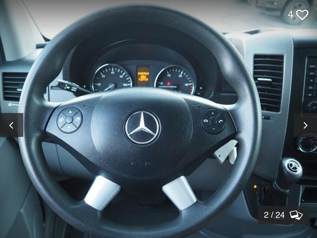Mercedes 313 CDi 4 X 4 Sprinter 2018