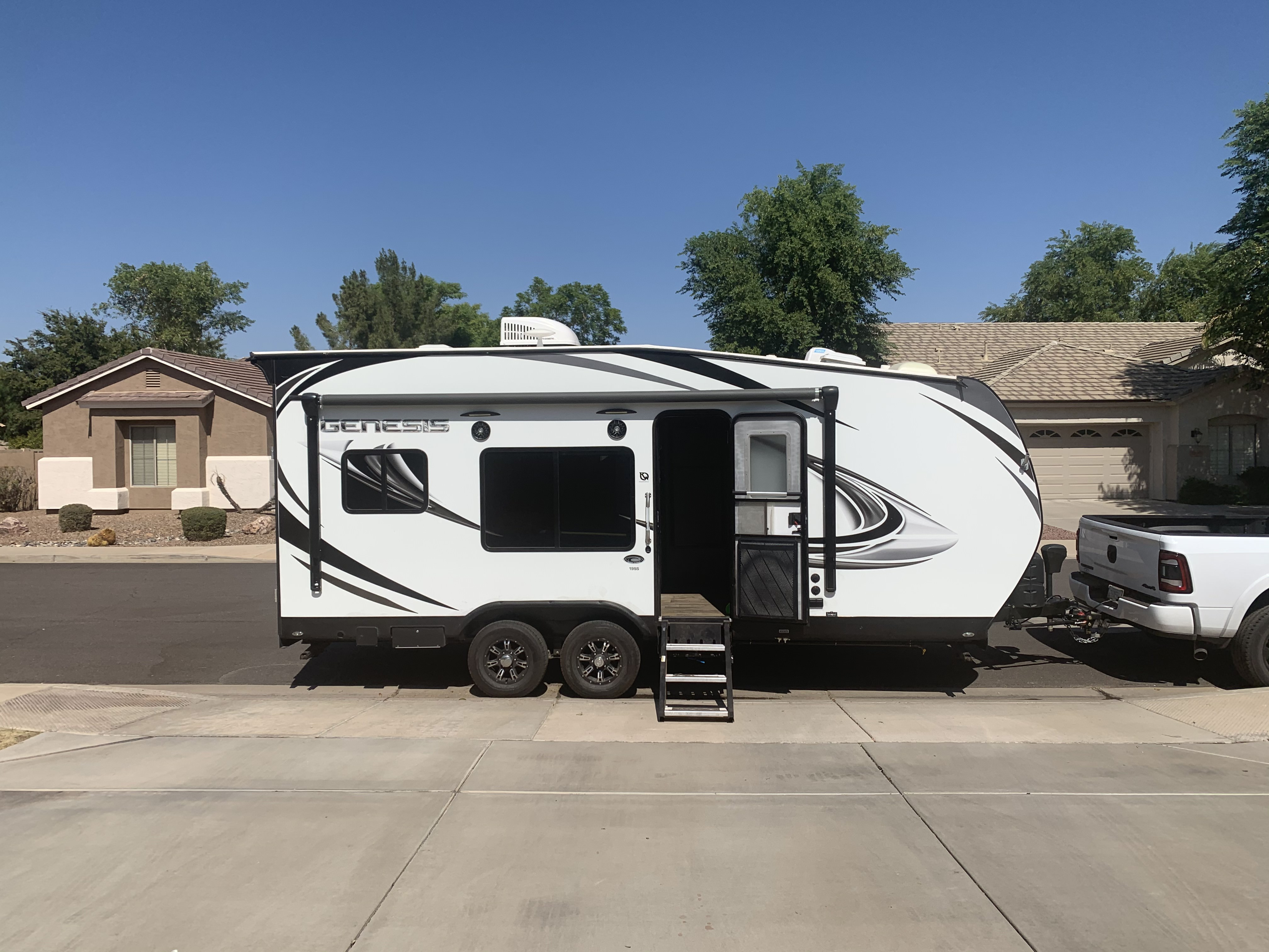 Outside 1. Genesis Supreme Rv Genesis Supreme 2018