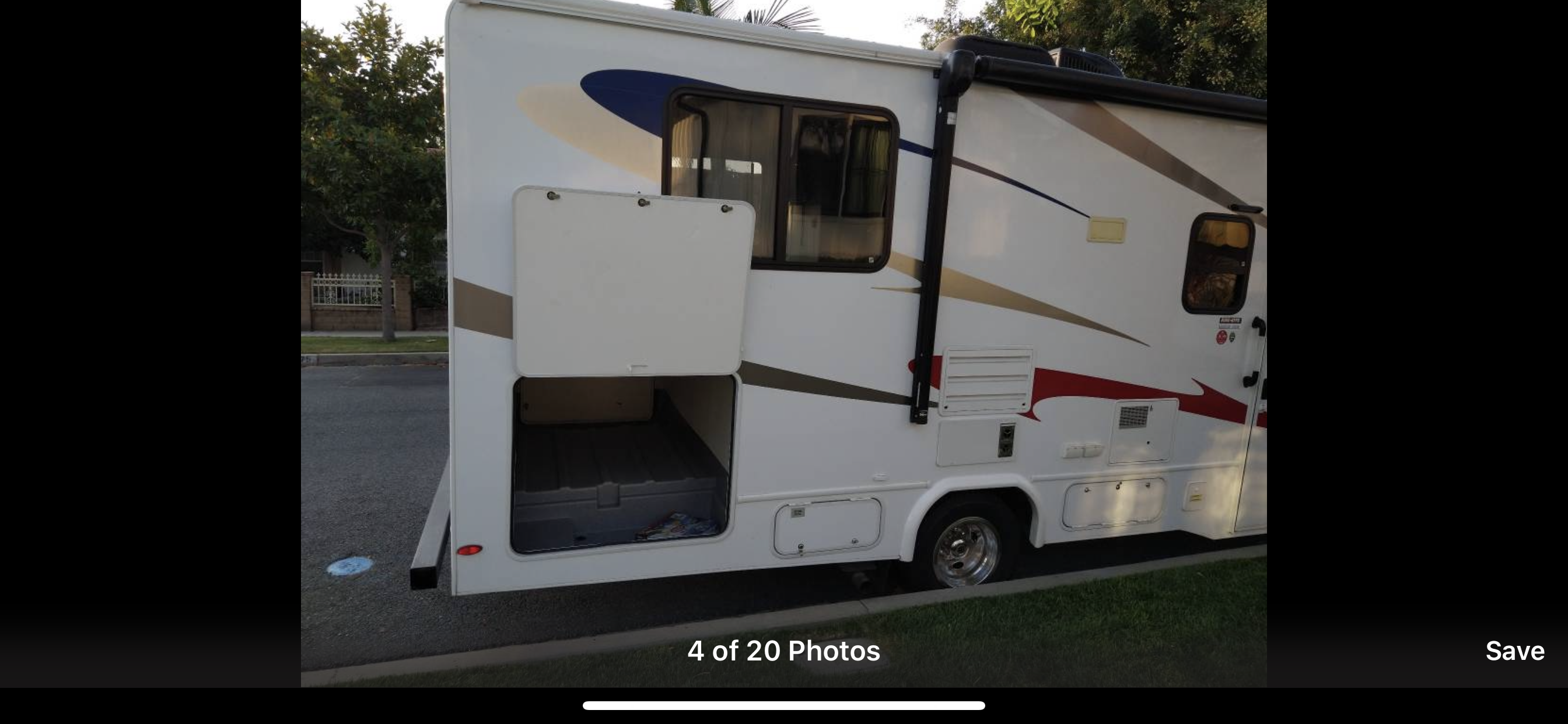 Storage w tent, sleeping bags small table and chairs.. Forest River Sunseeker 2018