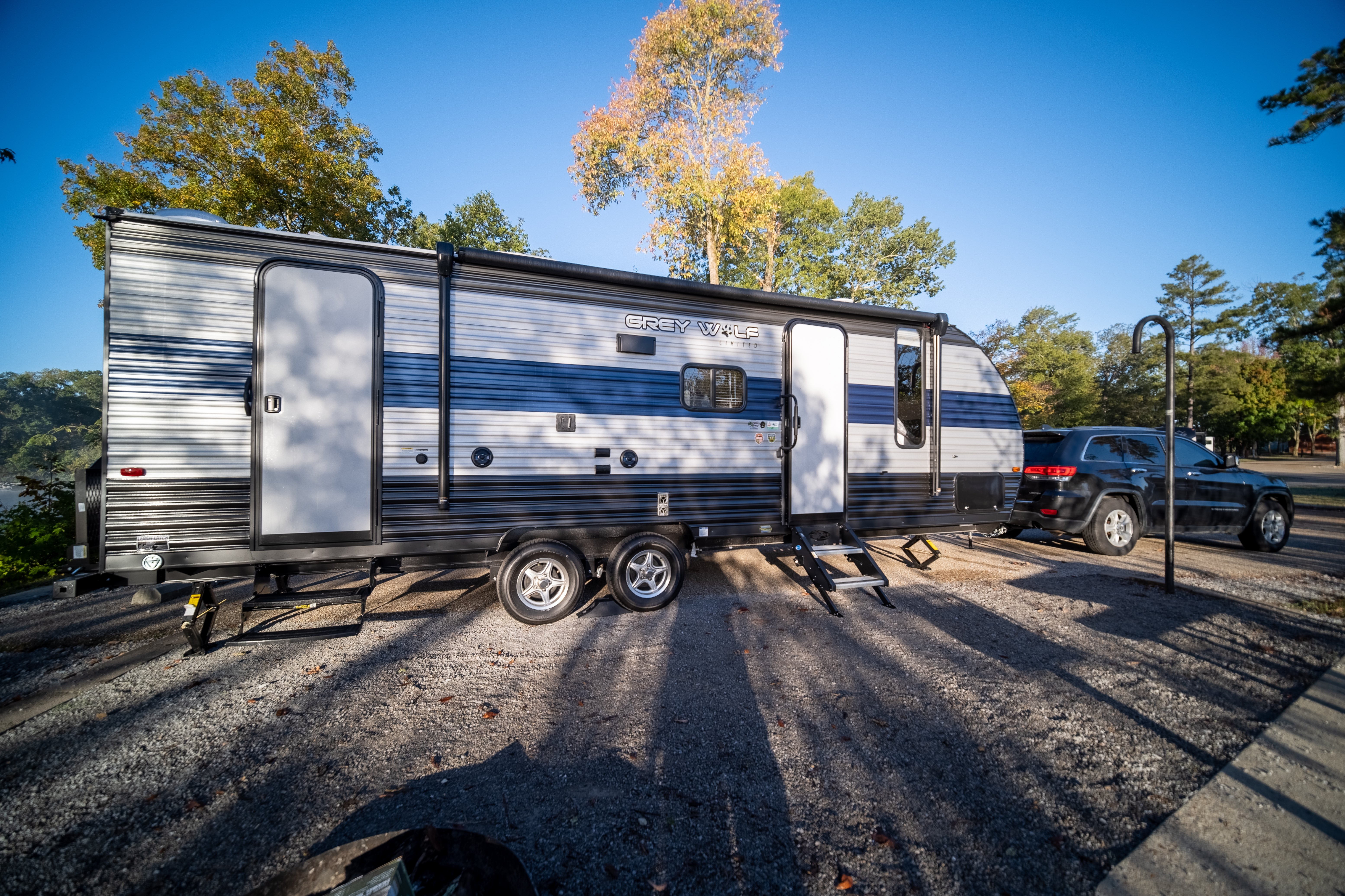 exterior. Forest River Cherokee Grey Wolf 2021