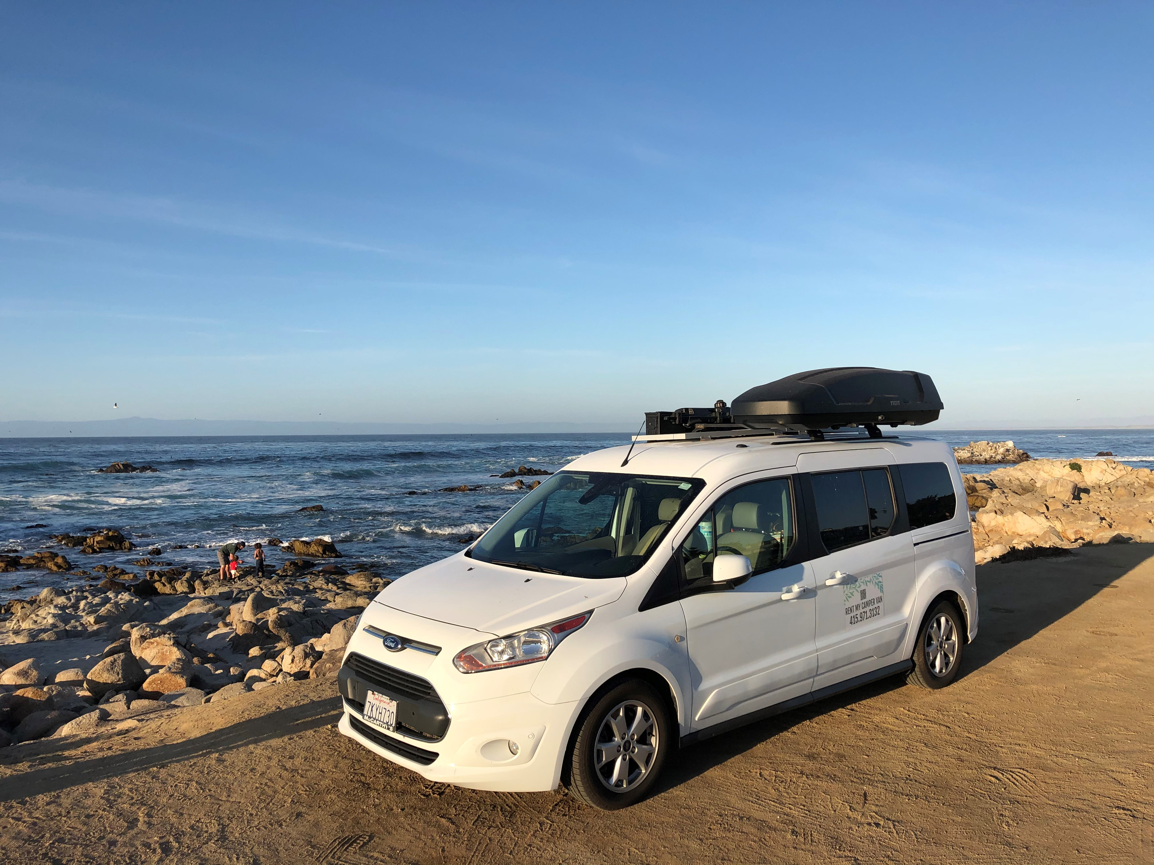 Pacific Grove, California. Ford transit 2015