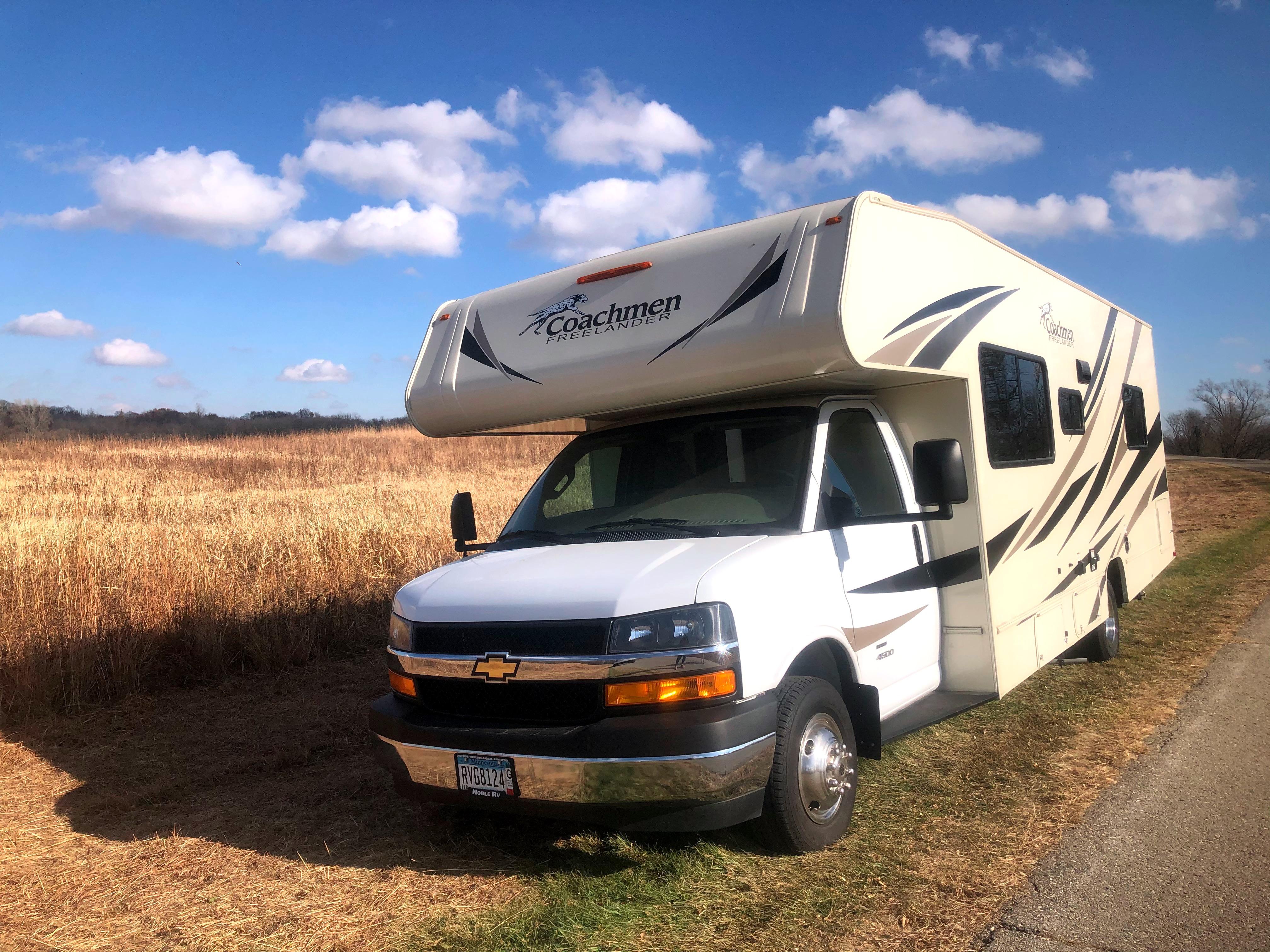 The RV is ready for an adventure!. Coachmen Freelander 2019