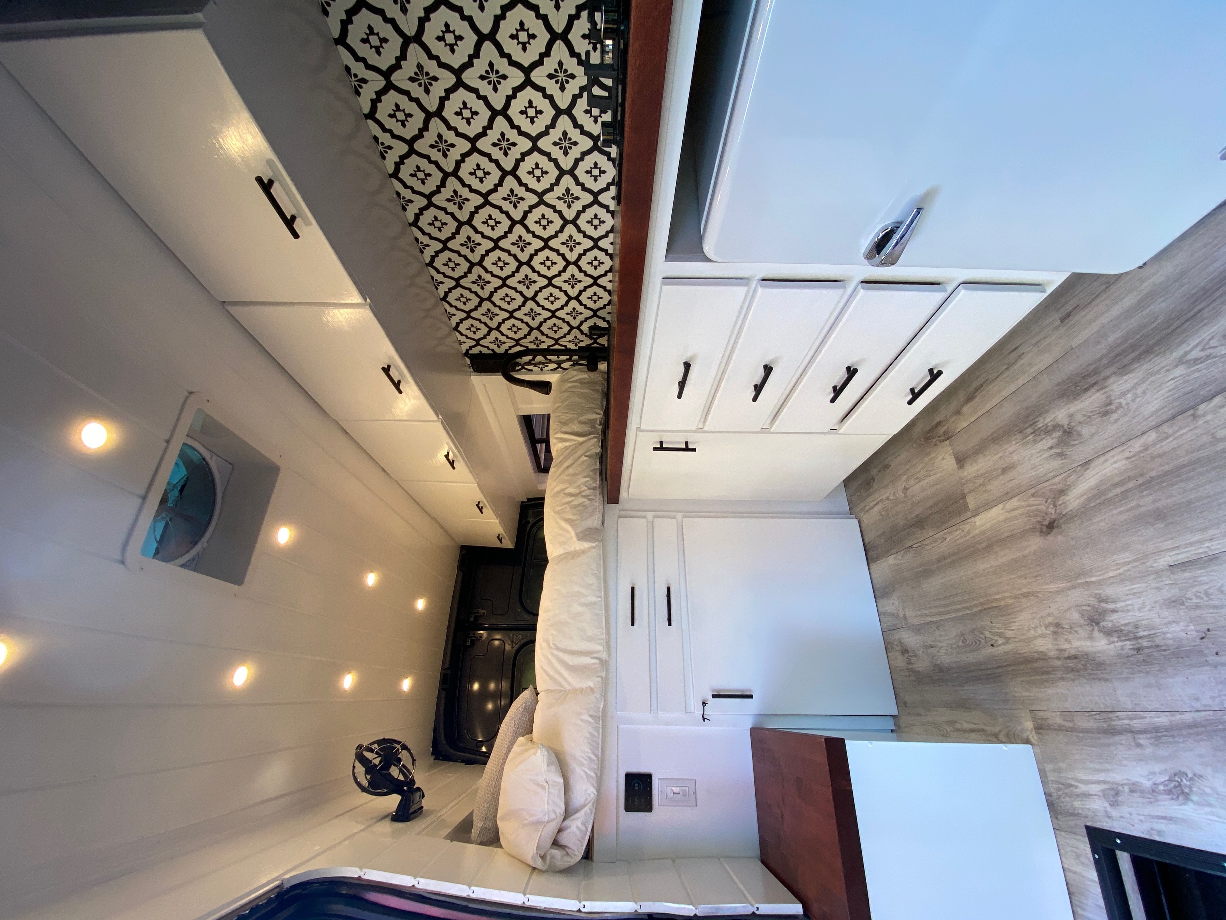 Willow has a posh interior making your adventure comfortable, cozy, and stylish!. Ford Transit 2020