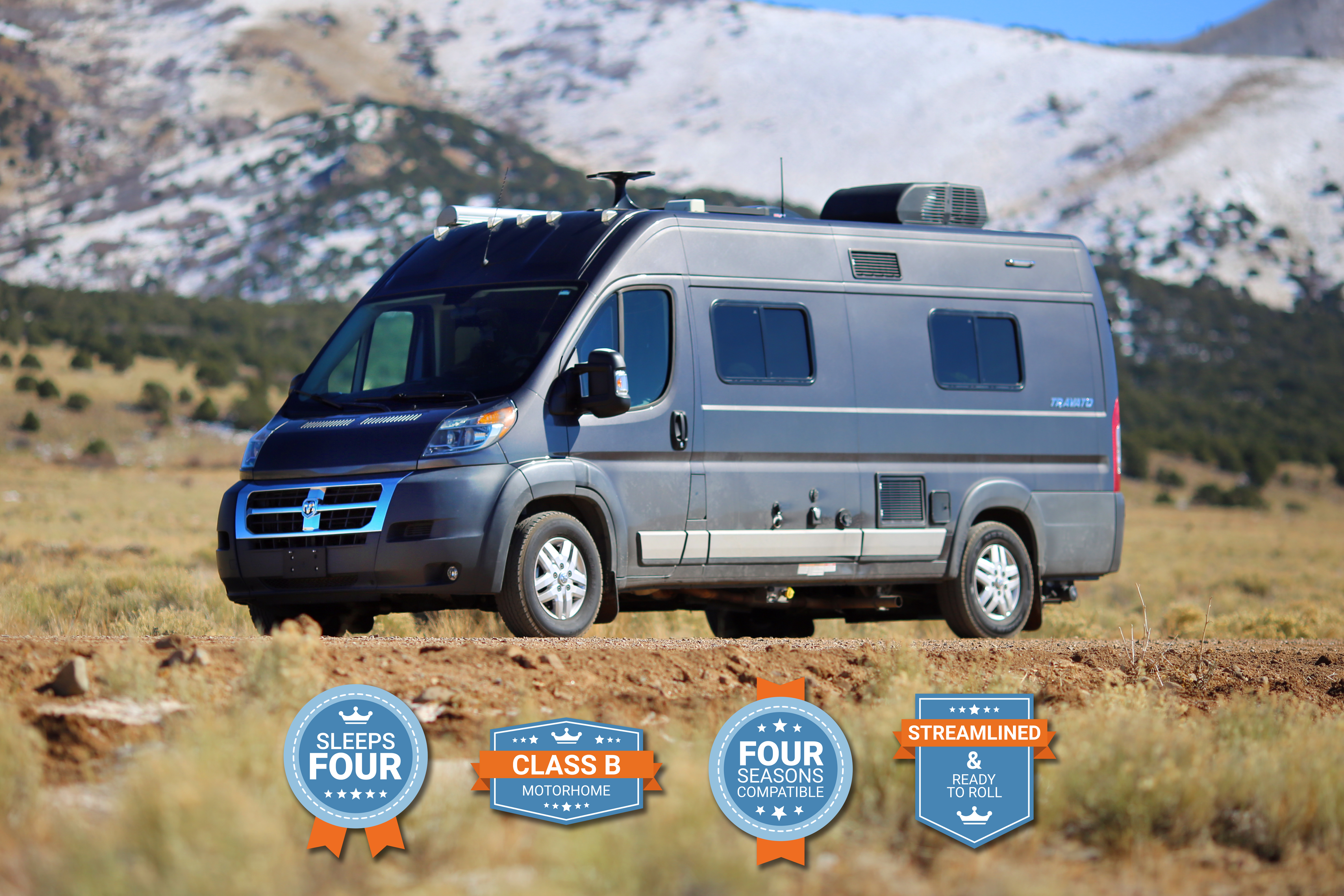 The Winnebago Travato is fully equipped, thoughtfully designed, and ready to provide opportunities for couples, friends, and families.. Winnebago Travato 2018