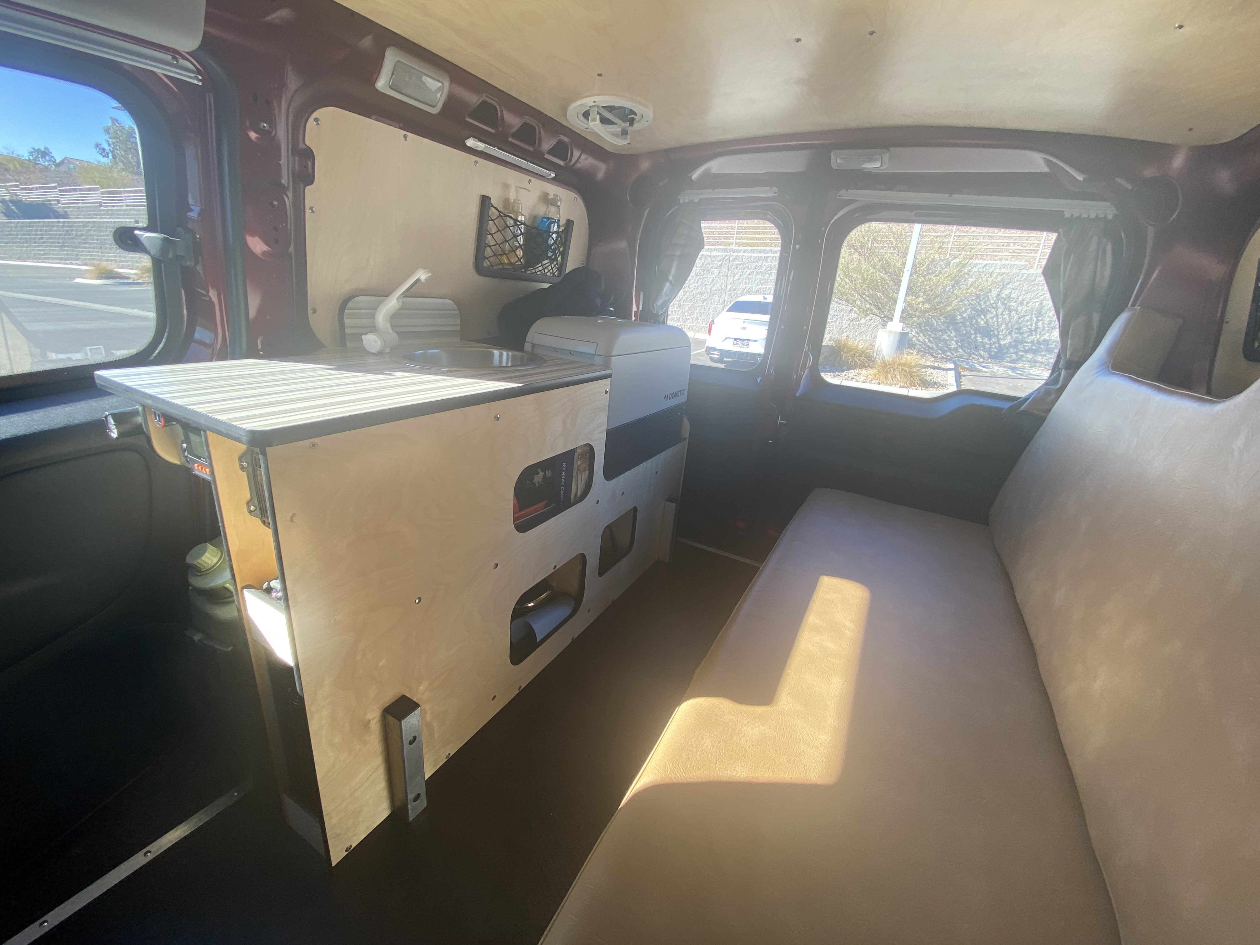 You know you wanna go on a rad adventure!. Dodge Promaster City / Cascade Camper 2018