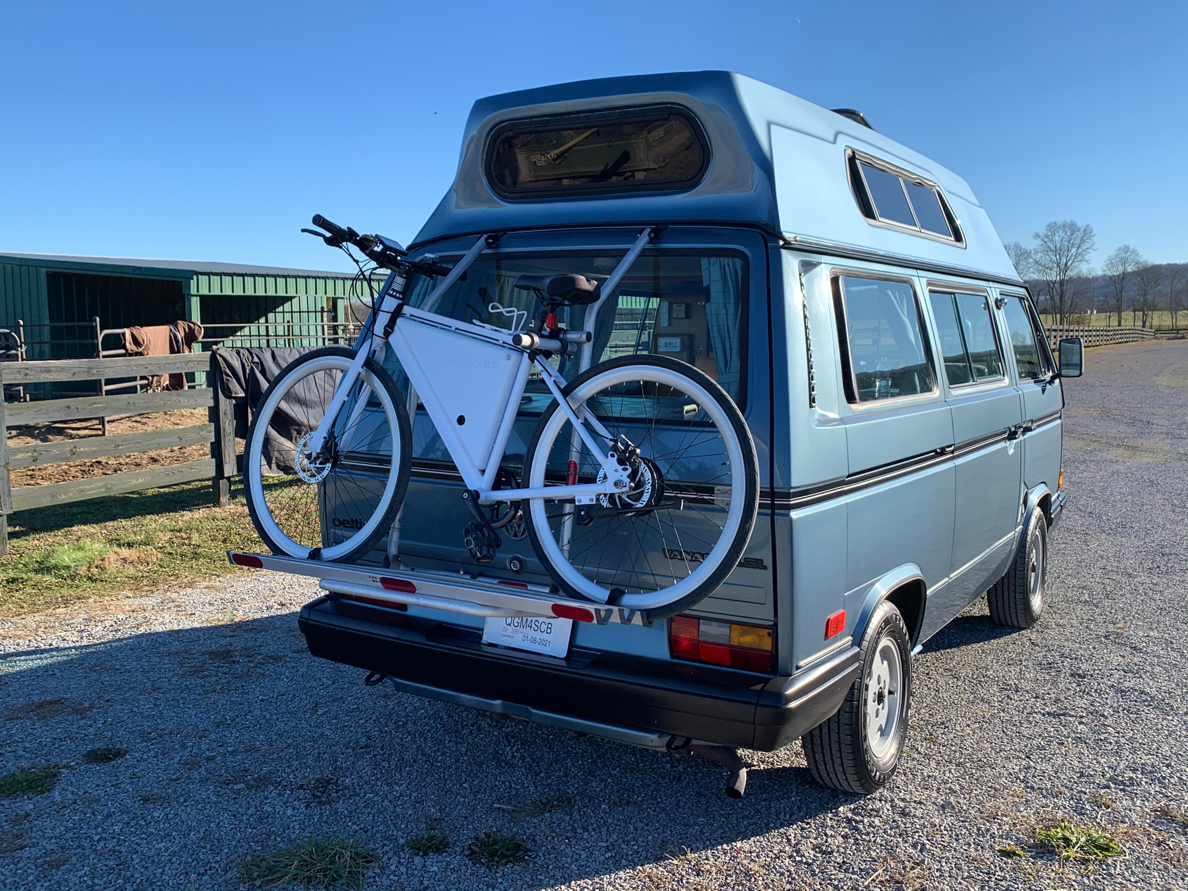 eBikes available at extra cost.. Volkswagen T3 Klassiker 1989