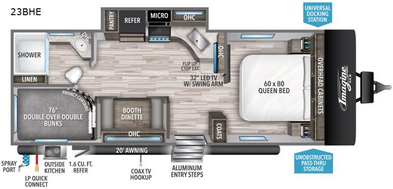 Grand Design Imagine XLS 23BHE 2021