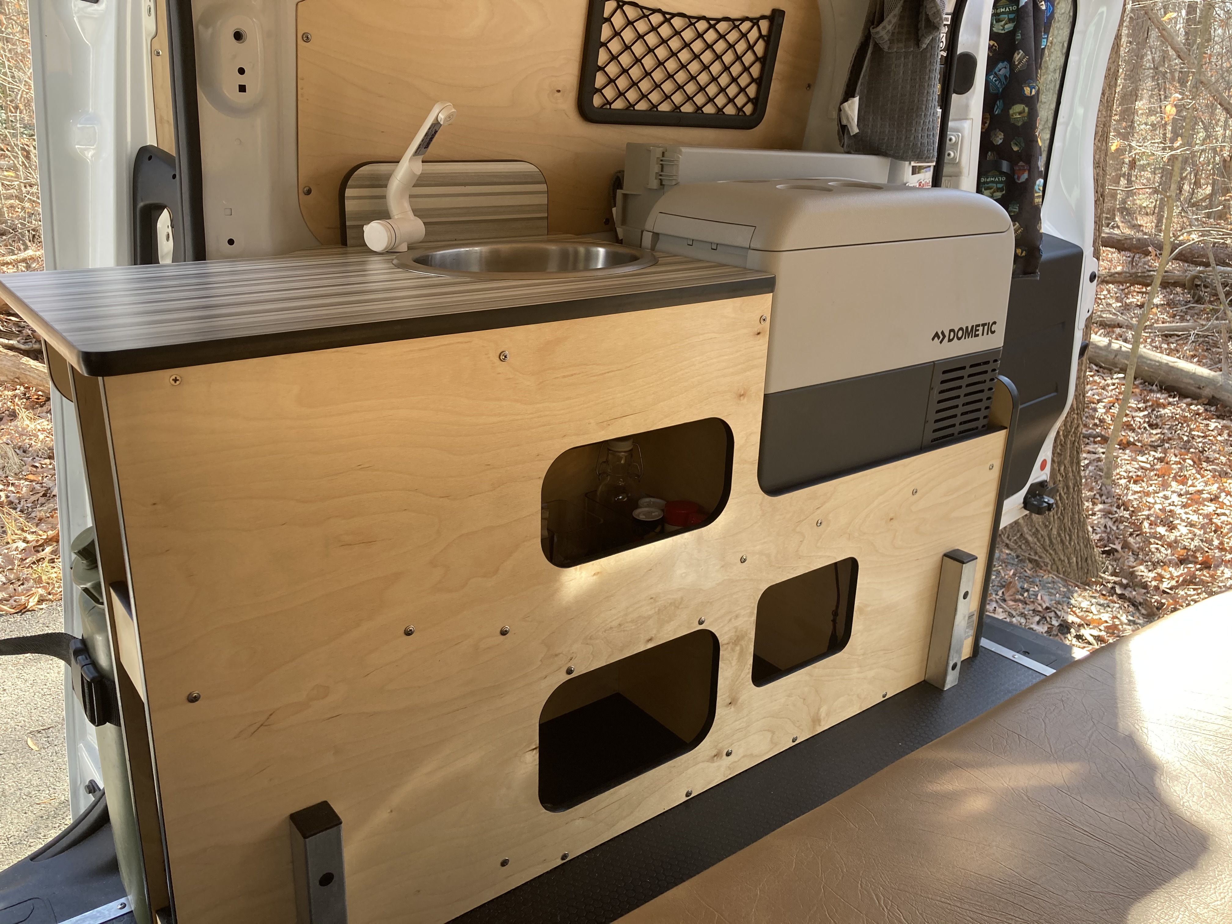 VANpire Weekend will have a fully functional kitchen . RAM ProMaster City 2020