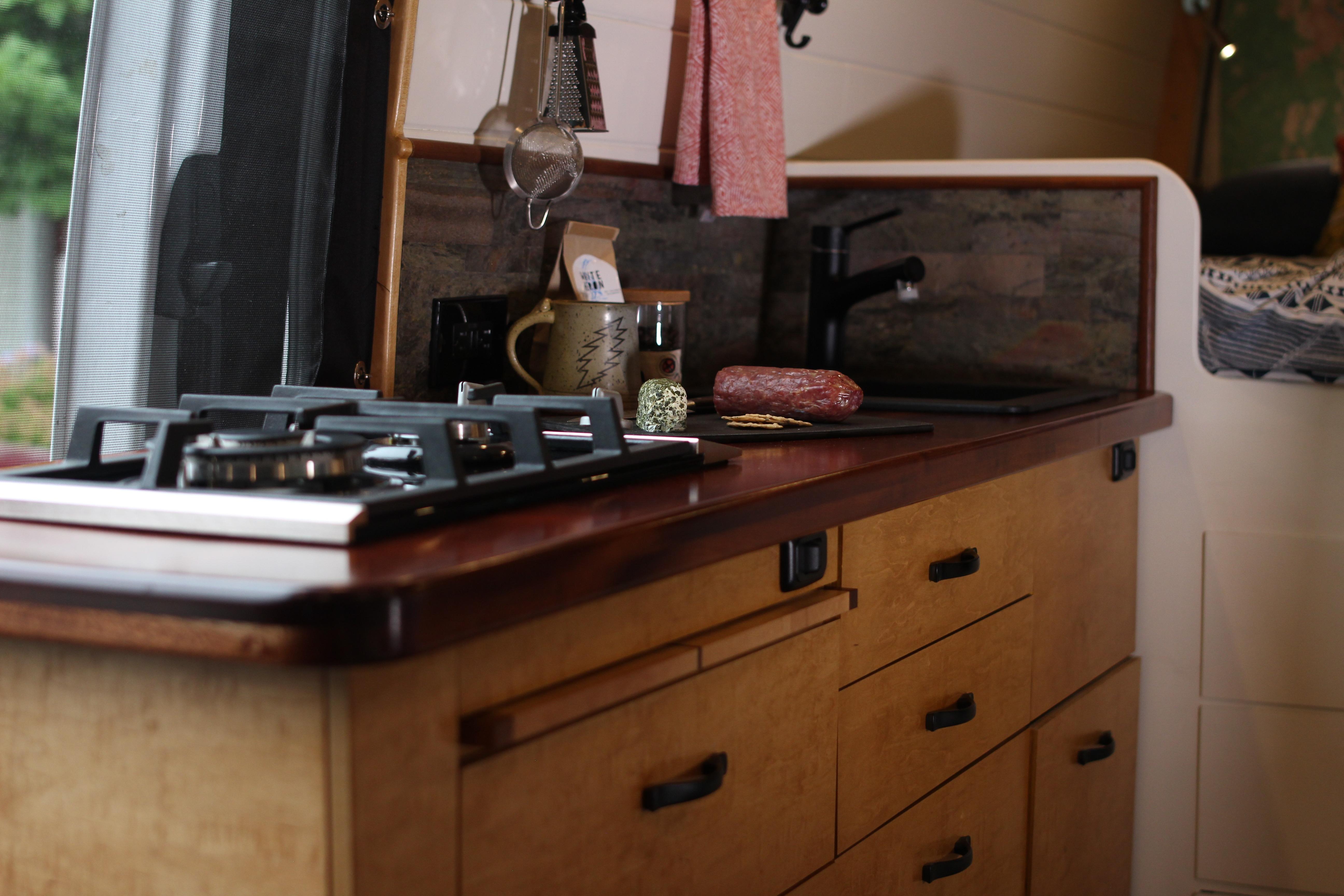A cook's kitchen for the culinary adventurer.. Mercedes-Benz Sprinter 2012