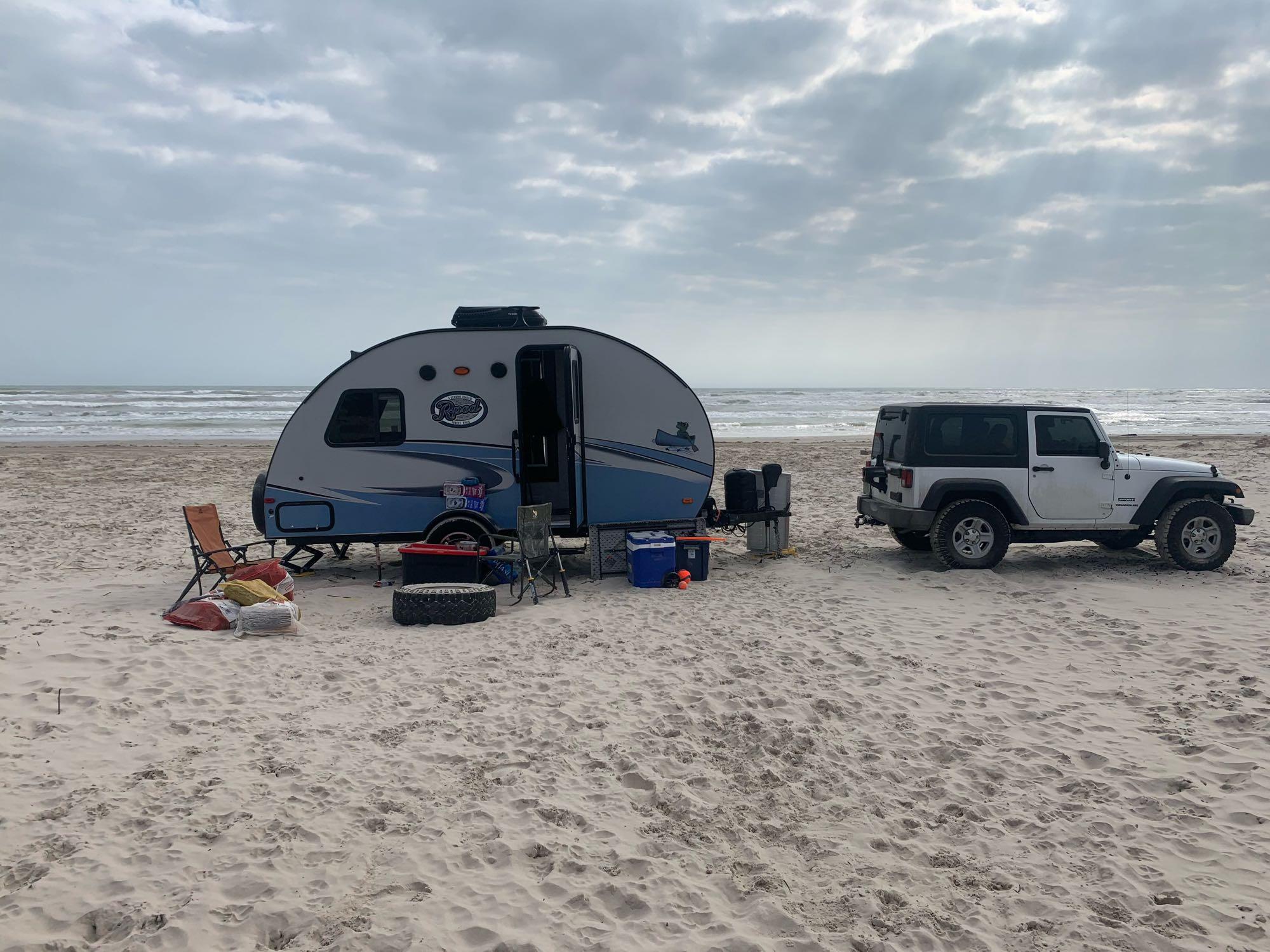 North Padre Seashore!. Forest River R-Pod 172 2018