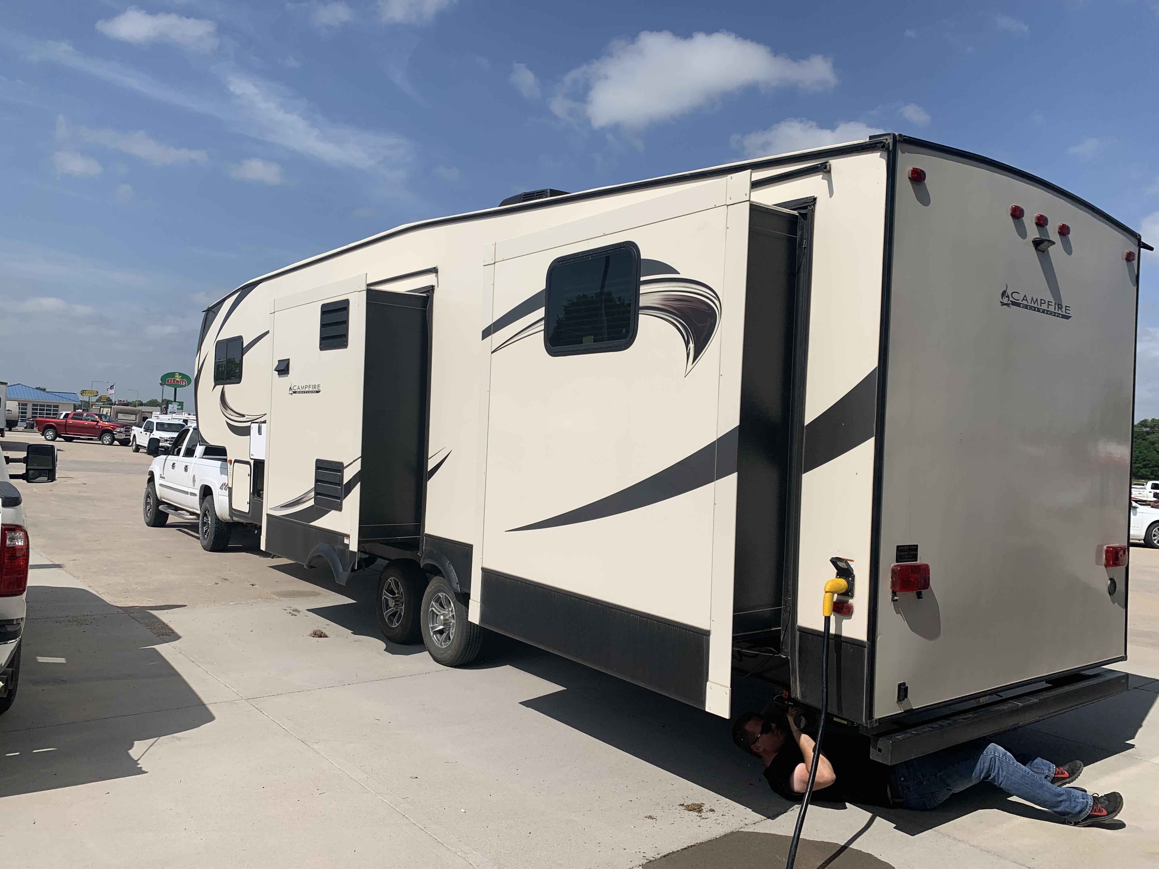 Keystone Sprinter Campfire 2019