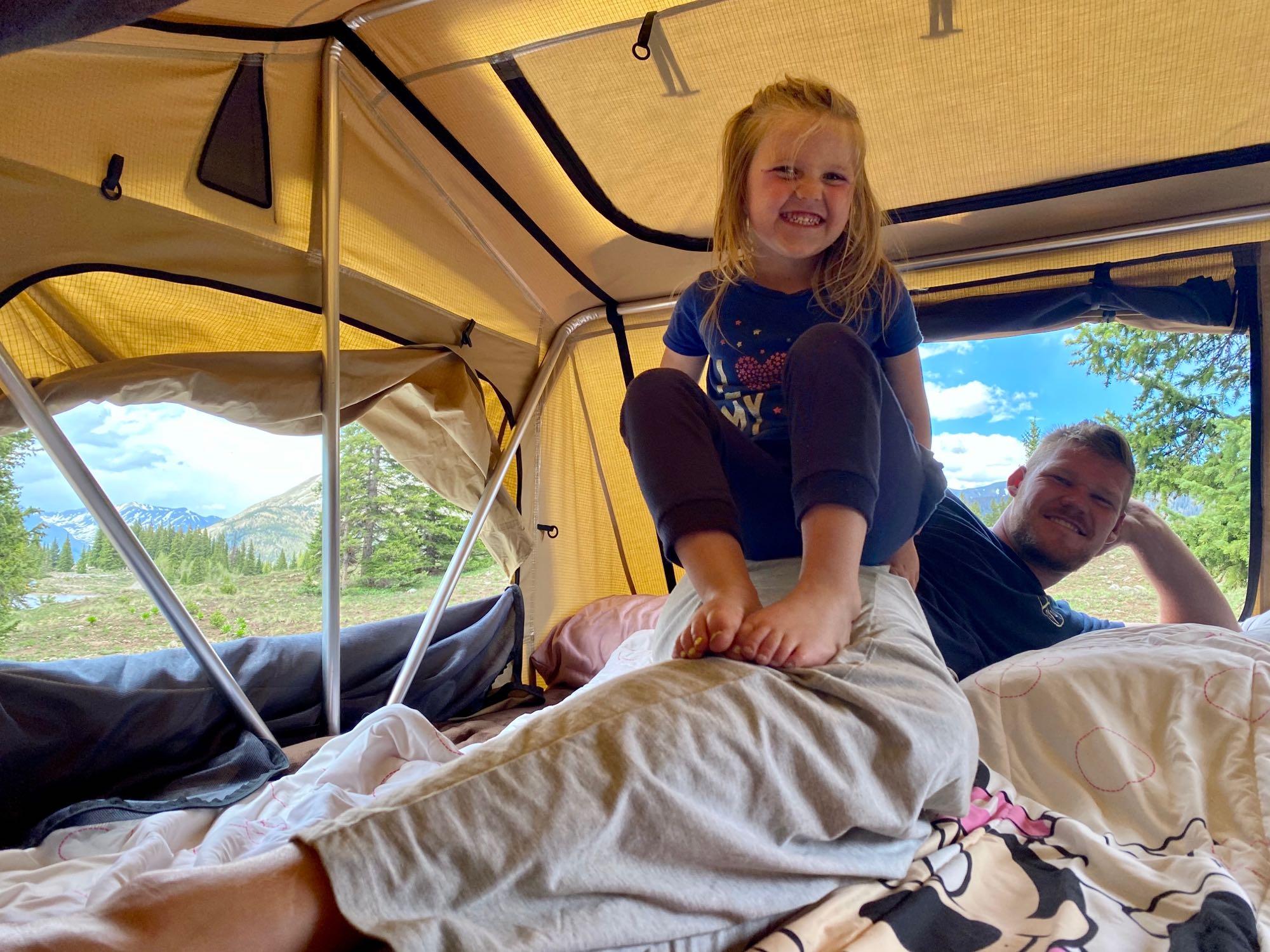 Sunny mornings :). Custom Camper 2005