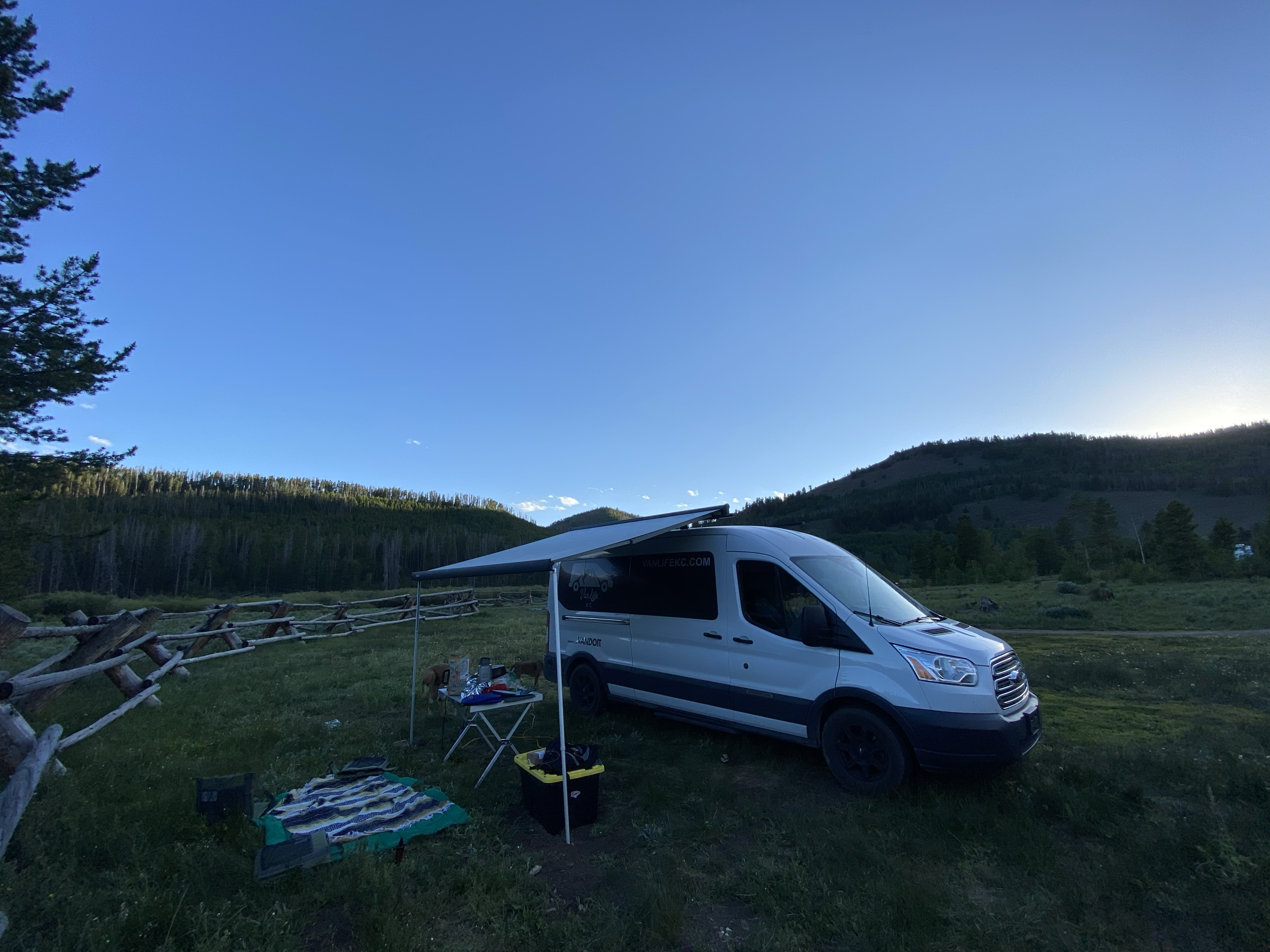 Vandium is a lot of fun. This was from a recent trip to Colorado with the awning out, and the kitchen set up to cook. Are you ready to choose your own adventure?. Ford Custom Transit VanDOit Adventure Van 2017